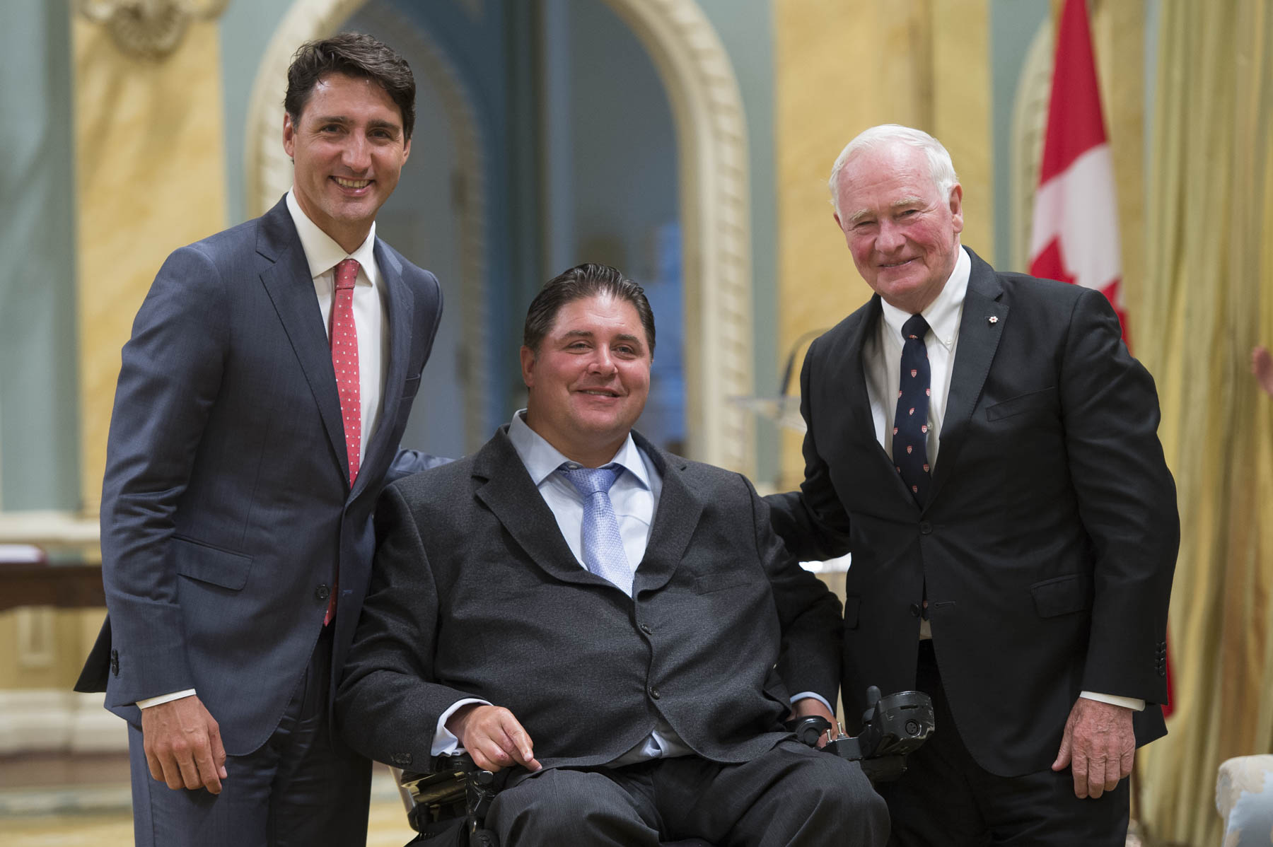 Kent Hehr, former Minister of Veterans Affairs and Associate Minister of National Defence, became Minister of Sport and Persons with Disabilities.