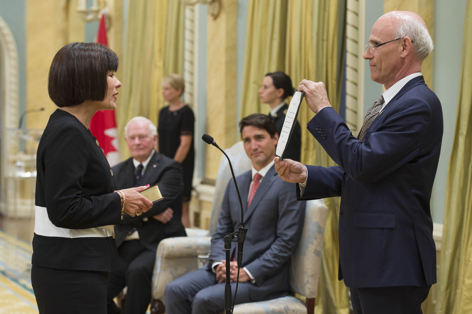 Ginette Petitpas Taylor, former Parliamentary Secretary to the Minister of Finance, became Minister of Health.