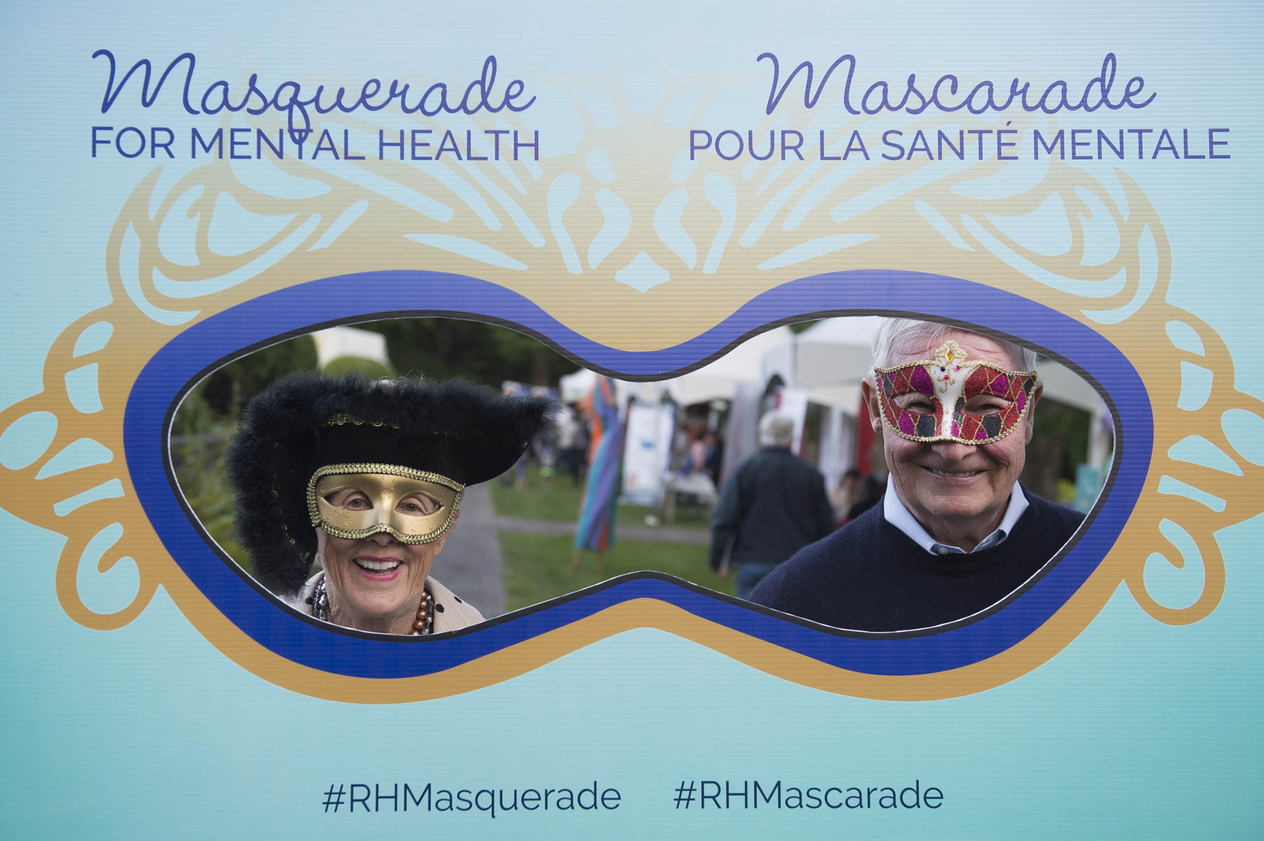 During this unique event made possible through the support of Bell Let's Talk, the Mental Health Commission of Canada, Borden Ladner Gervais LLP and the Honourable Margaret McCain, the grounds of Rideau Hall were transformed into a lively fair. All activities were free of charge. Members of the public had the opportunity to take selfies with a frame made to fit the theme of the event.