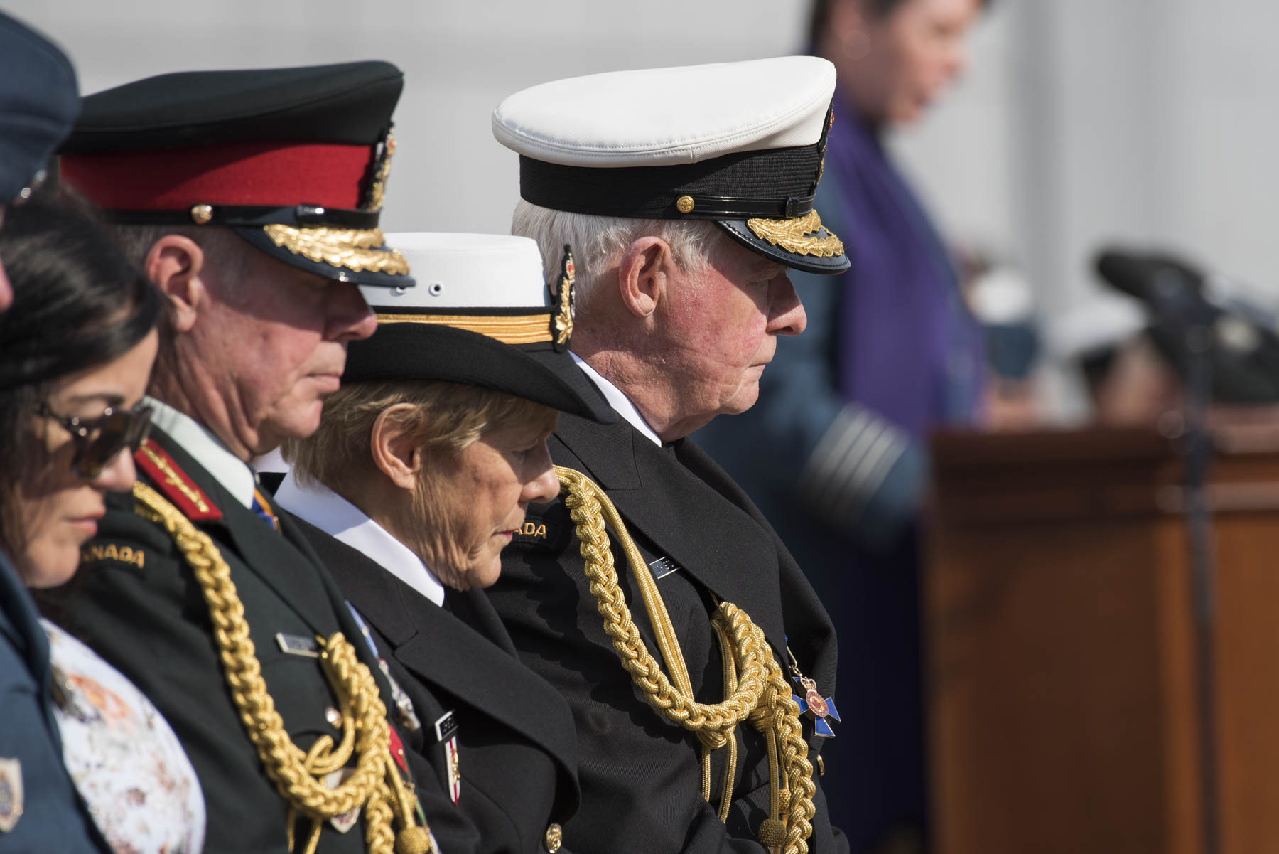 His Excellency served as the Canadian Armed Forces' Commander-in-Chief for seven years. During his appointment, the Governor General made it a priority to support military members and their families through various initiatives and activities.