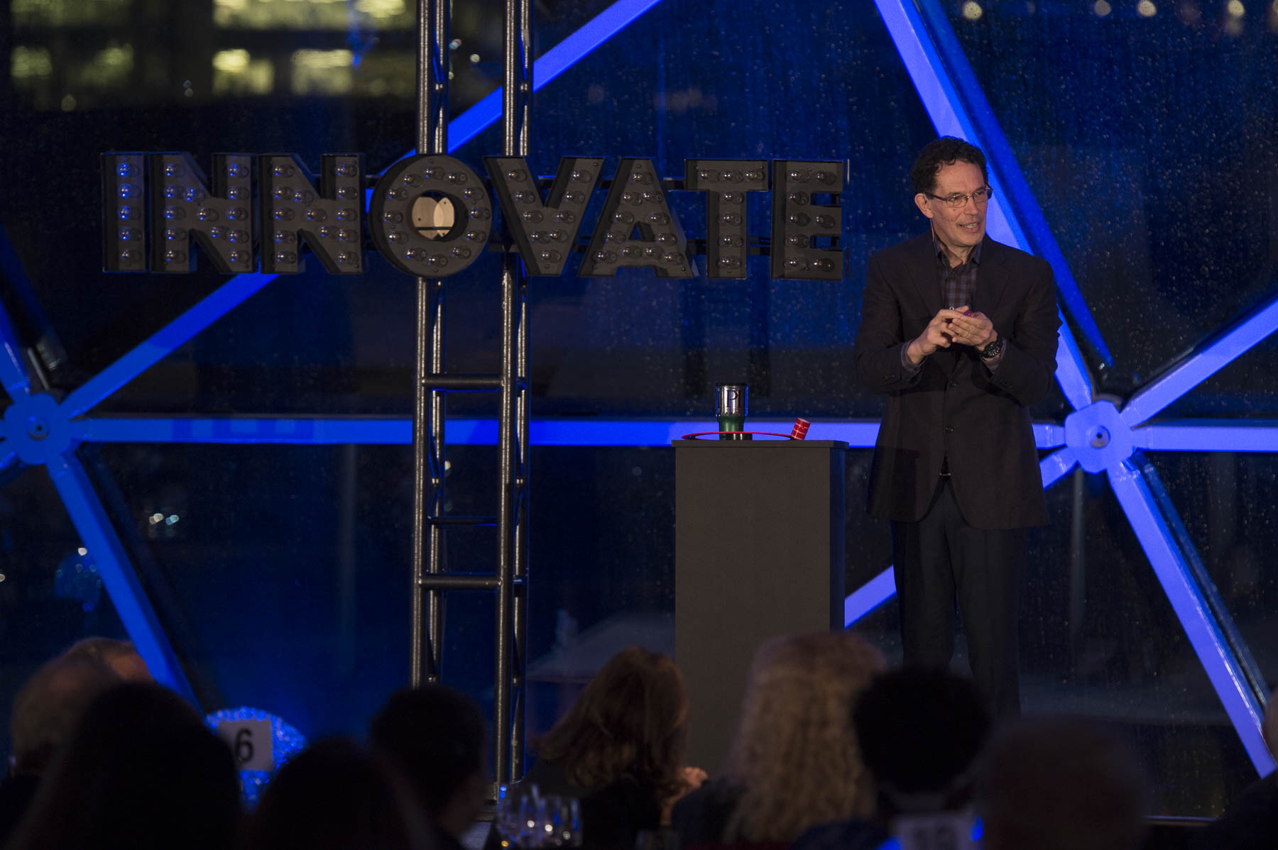 Dr. Neil Turok, Director of Perimeter Institute for Theoretical Physics, delivered the keynote address. He drew from his personal experiences to reflect on innovation and what it means for us all.