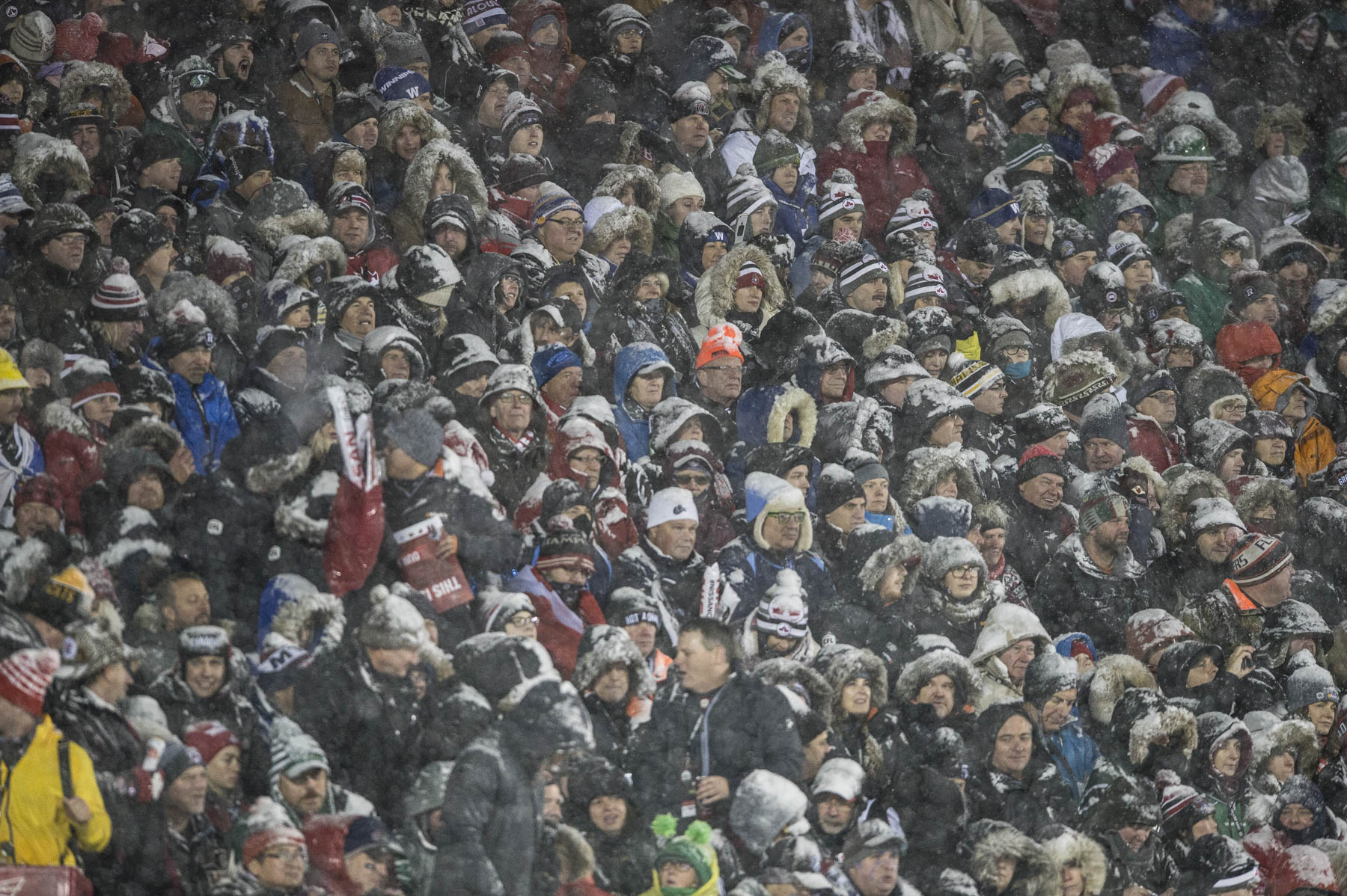 The Grey Cup took place in Canada's capital this year on the occasion of the 150th anniversary of Confederation.