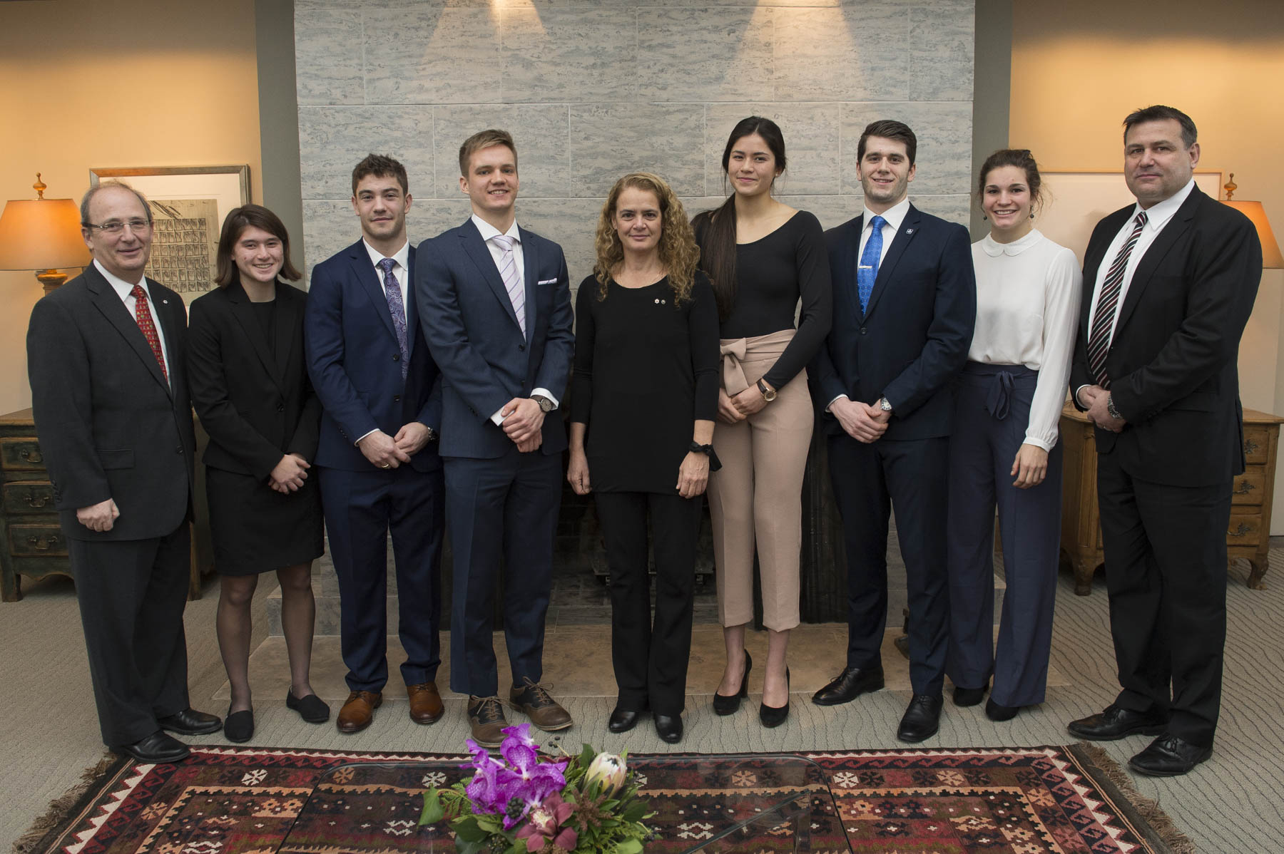 The Governor General's Academic All-Canadian Commendation recognizes student-athletes who have maintained an average of 80 per cent or higher over the academic year while playing on one or more of their university's varsity teams. These top eight Academic All-Canadians are selected by U SPORTS, formerly known as Canadian Interuniversity Sport, and its four conferences.