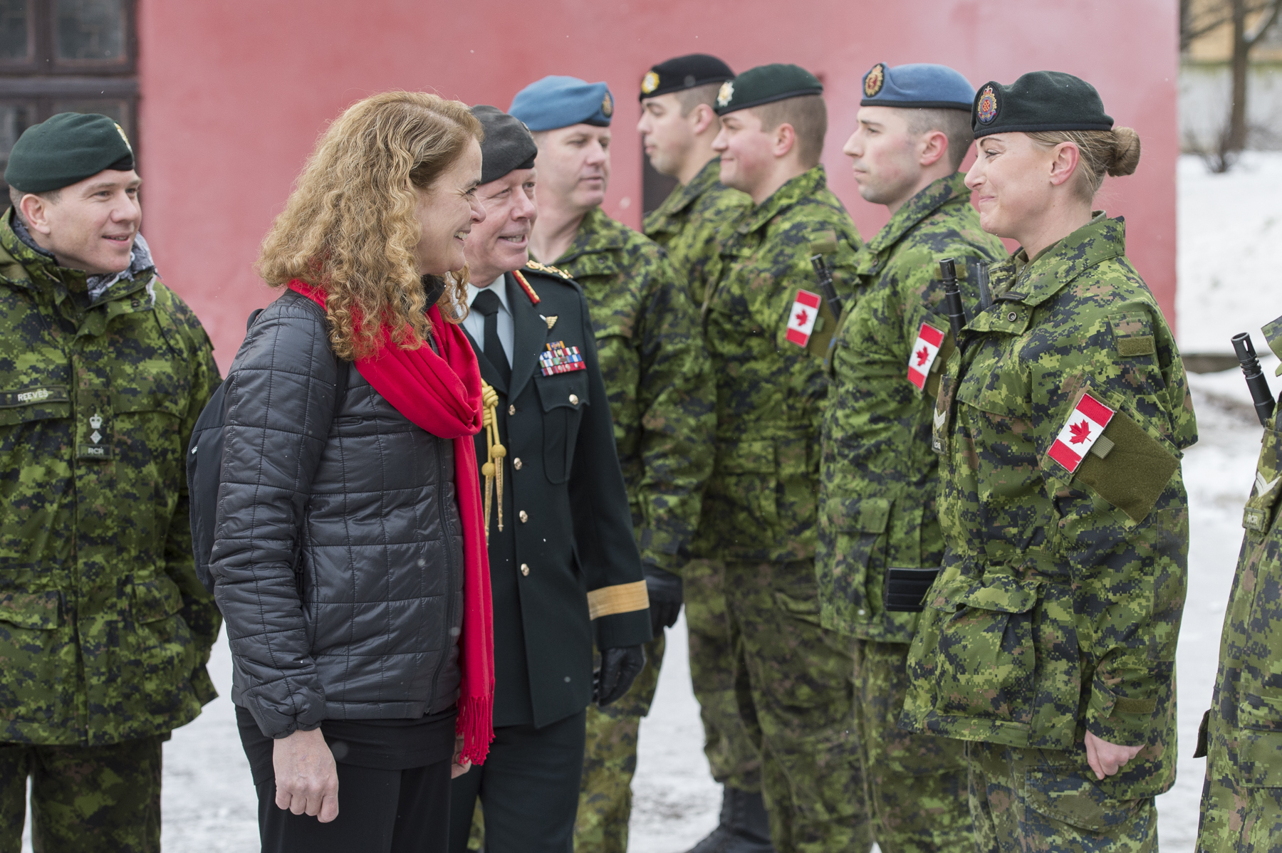 Canadian's Operation UNIFIER was crucial to the reopening of this academy in September 2017 after it had been decommissioned in 2012.