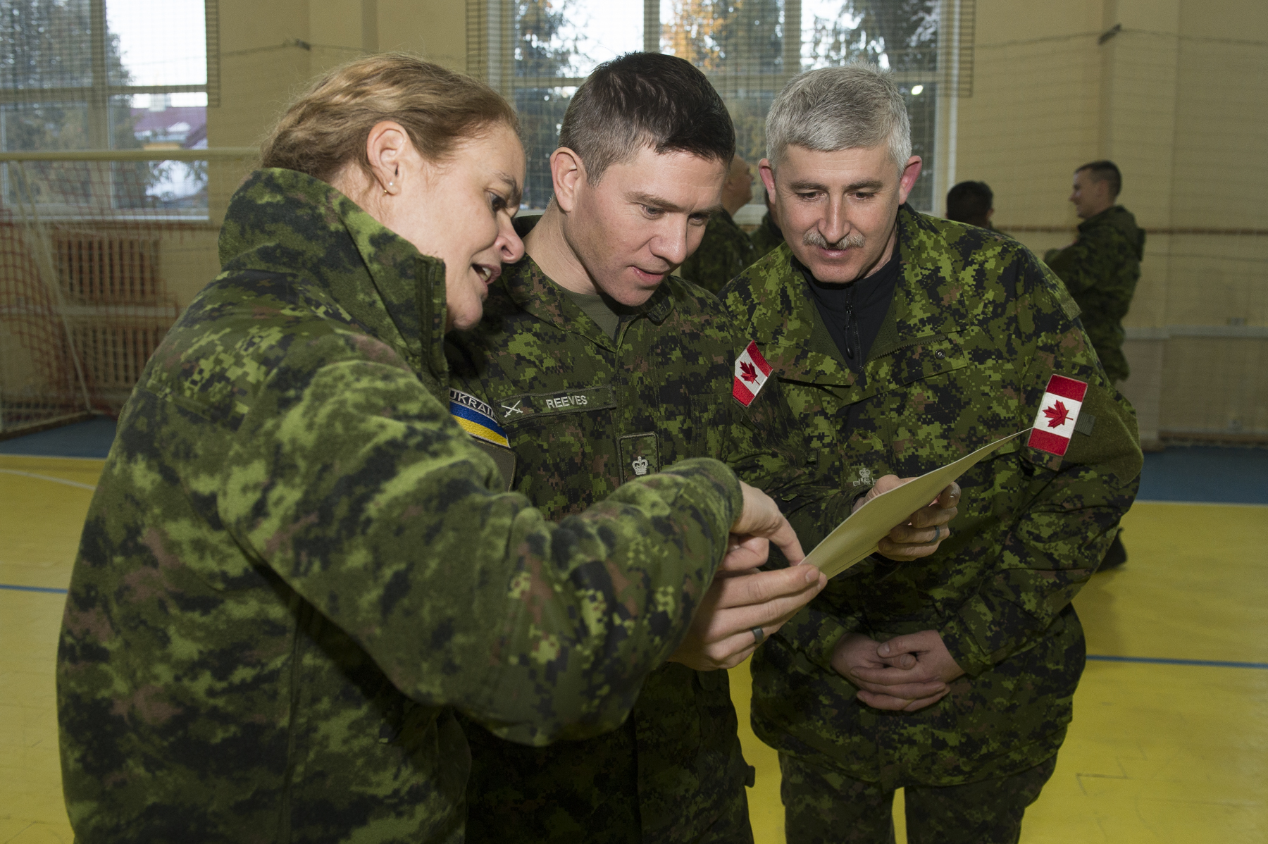 During this visit, Her Excellency learned about Operation UNIFIER.