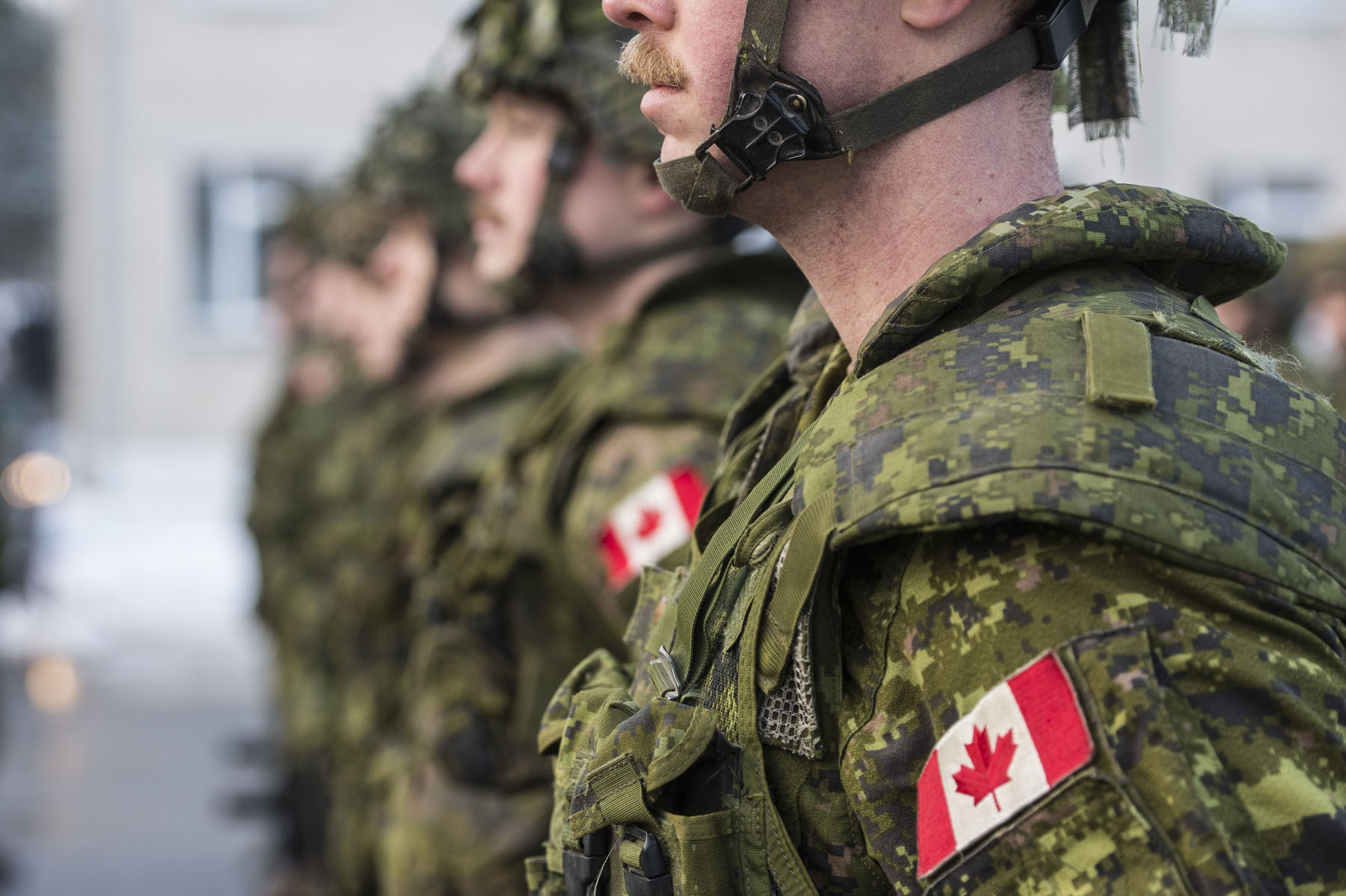 Canada leads NATO's eFP BG Latvia and contributes approximately 450 personnel to the battlegroup as part of Operation REASSURANCE.