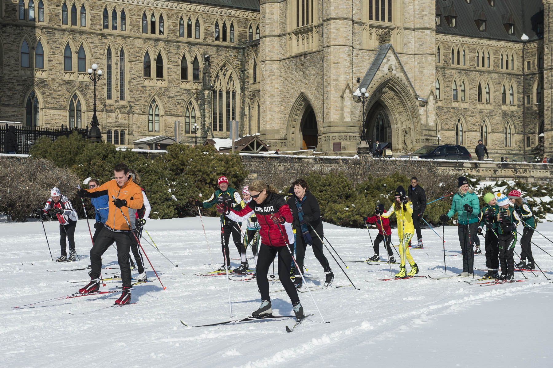 This event was created to promote National Health and Fitness Day and to encourage Canadians to embrace winter, and is held in partnership with the Nakkertok Nordic Club and XC Ski Fast.