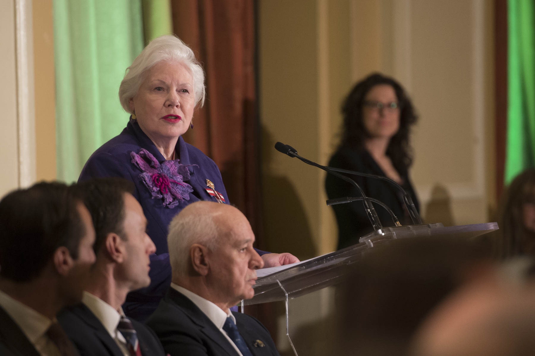 Her Honour the Honourable Elizabeth Dowdeswell, Lieutenant Governor of Ontario, provided opening remarks.