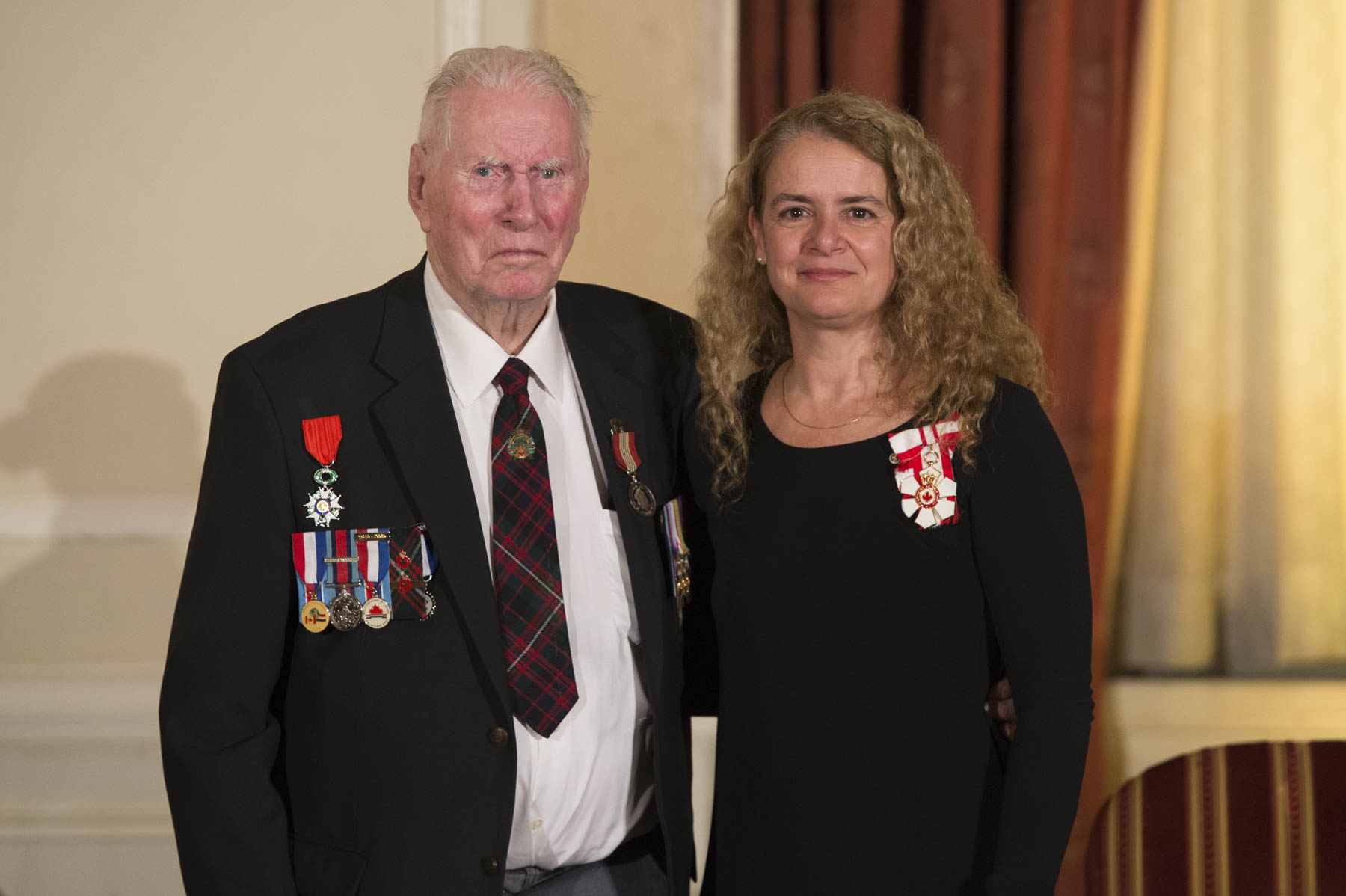 For more than 50 years, Second World War veteran Joseph Sullivan has worked extensively to have veterans recognized for their contributions. He regularly brings together fellow surviving members of the Stormont, Dundas and Glengarry Highlanders for reunions, where they can share memories and pay tribute to their fallen comrades-in-arms.
