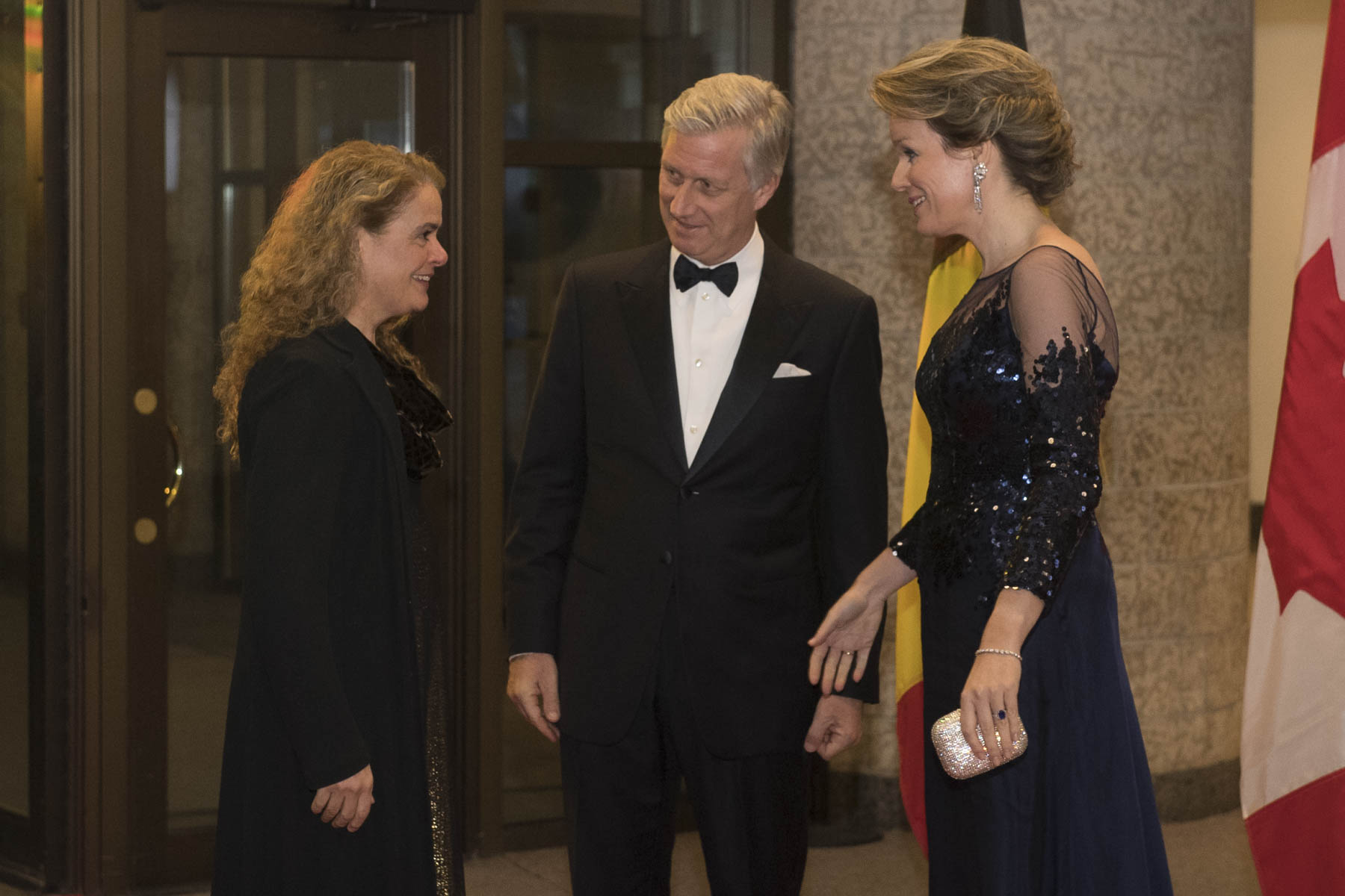The Governor General attended a concert at the Canadian Museum of History on the occasion of the State Visit to Canada of Their Majesties the King and Queen of the Belgians.