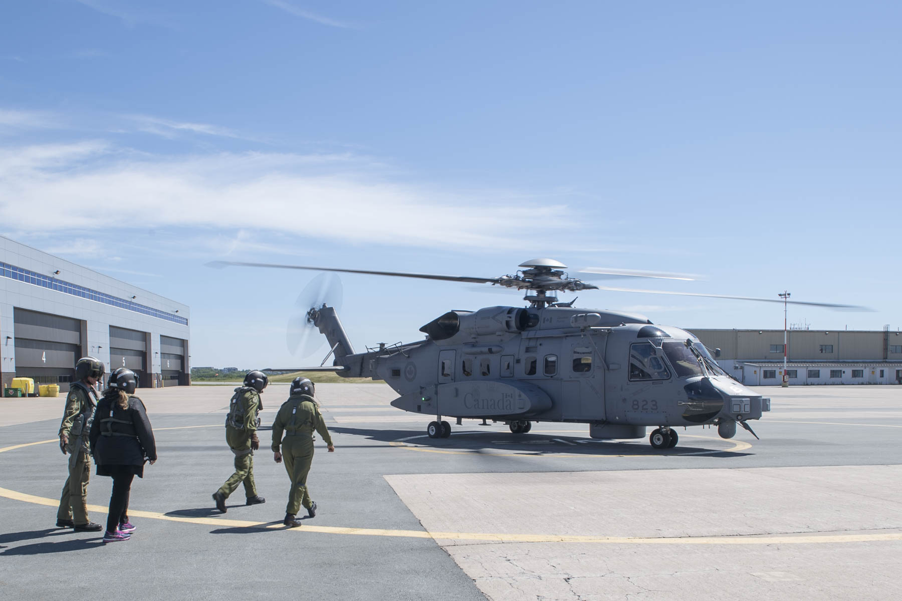 The CH-148 Cyclone is the most advanced maritime helicopter the Royal Canadian Air Force has ever employed.
