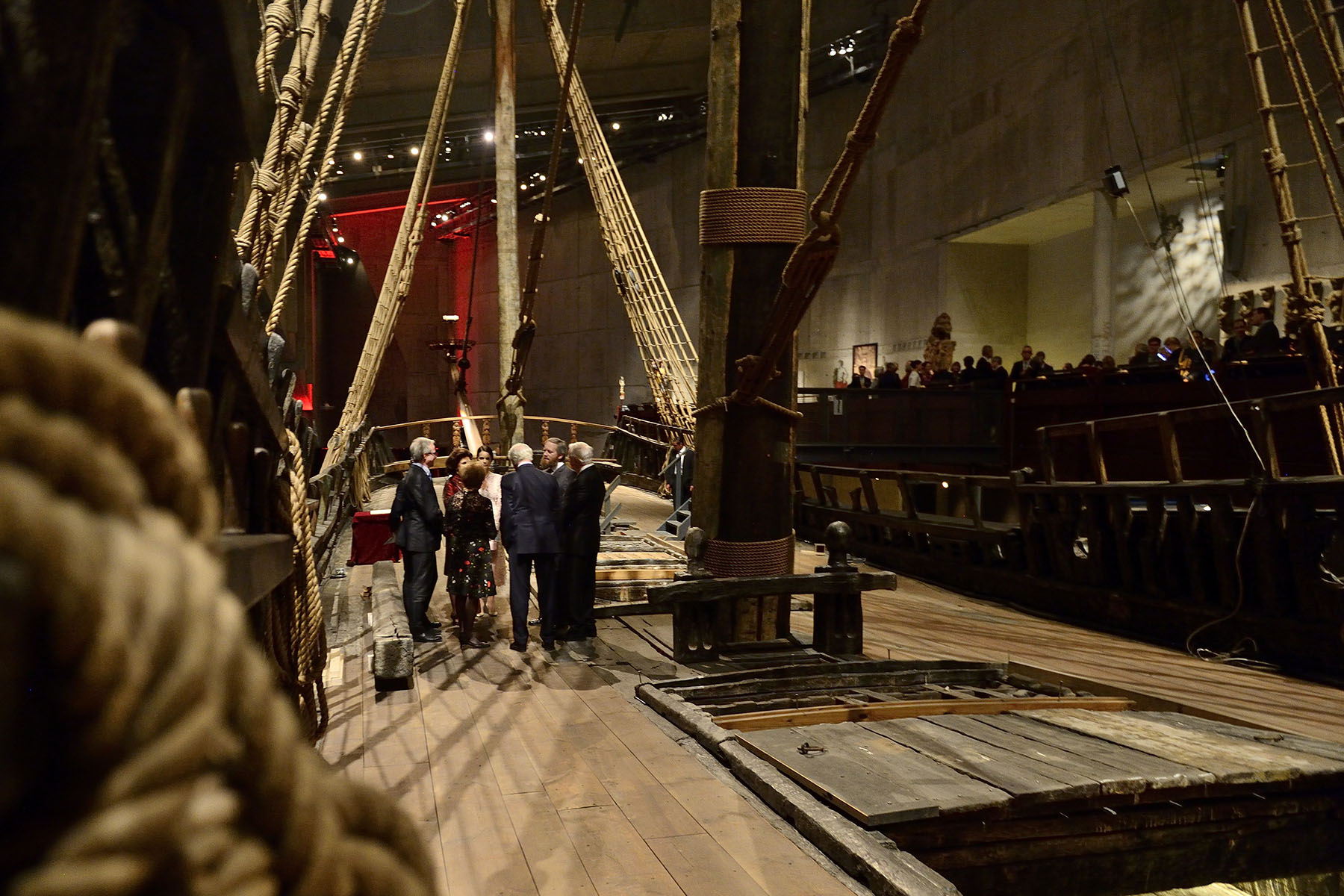 The Vasa Museum is a maritime museum that showcases a 17th century ship that was salvaged.