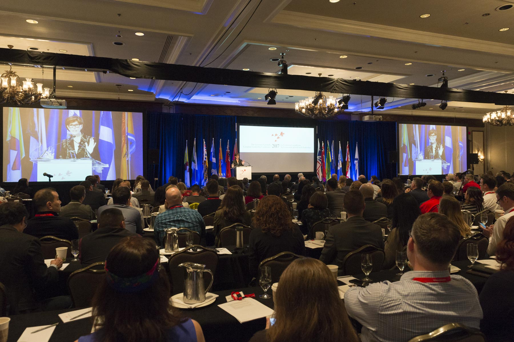 Two hundred and fifty Canadians from across the country are taking part in this Conference.