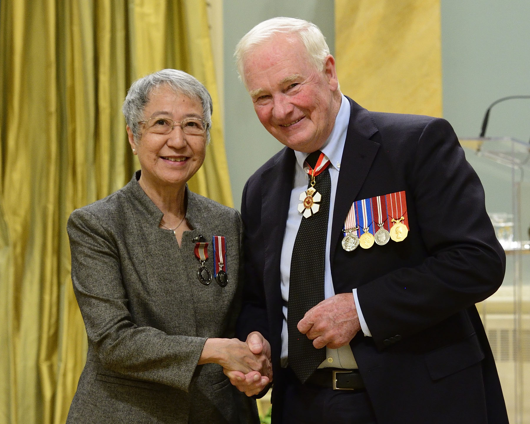 Since 2003, Mai-yu Chan has dedicated both time and resources to the Friends of the Canadian War Museum, inspiring volunteers and visitors alike through creative programs involving the institution's art exhibitions and Regeneration Hall. She has also served as a board member, director and chair of the Membership Committee.