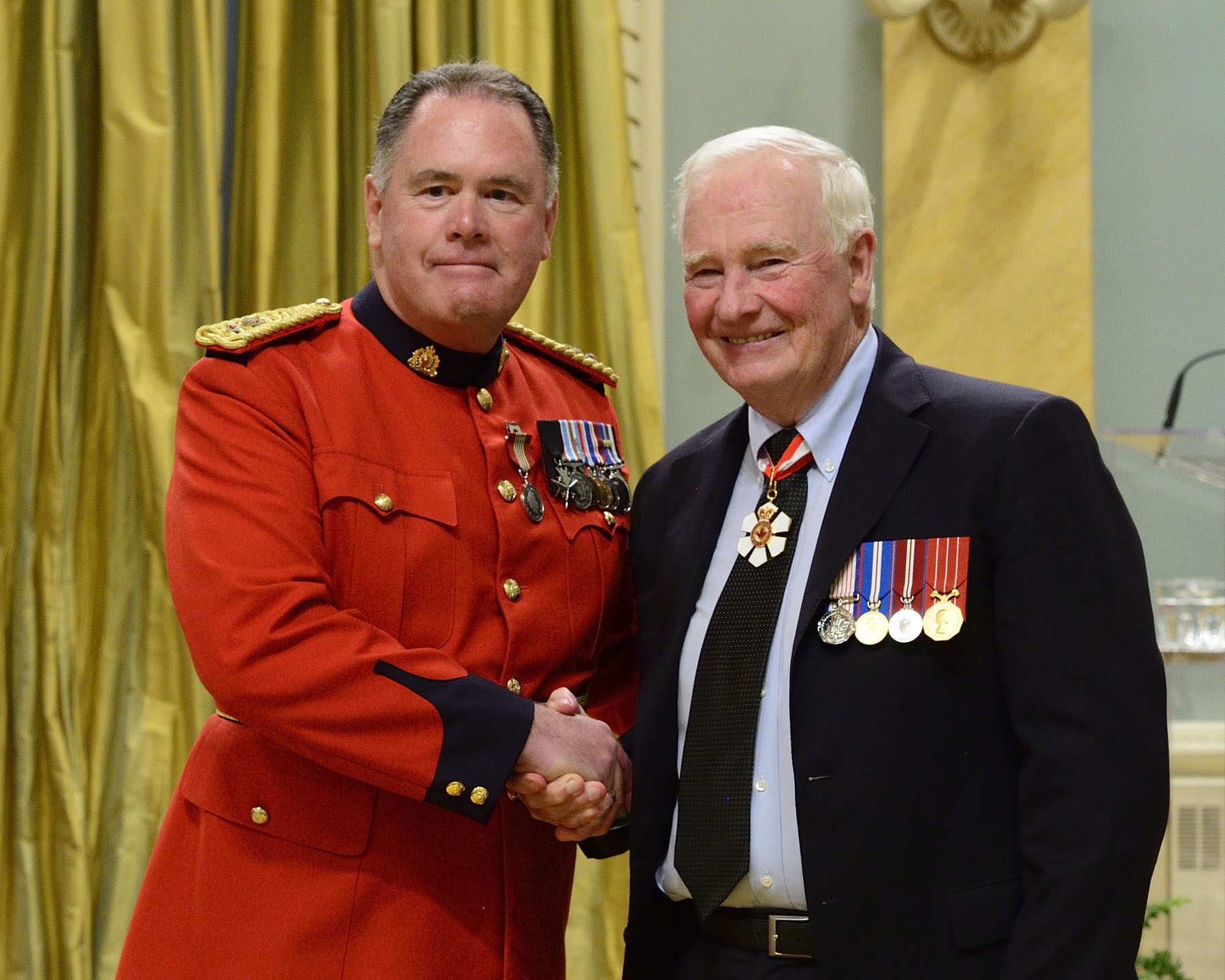Although Joseph Healy has been involved in several community organizations and activities for many years, one of his greatest achievements is the creation and administration of the National RCMP Graves Inspection and Maintenance Information Website. His dedication to this initiative continues to bring honour to the RCMP and to Canada.