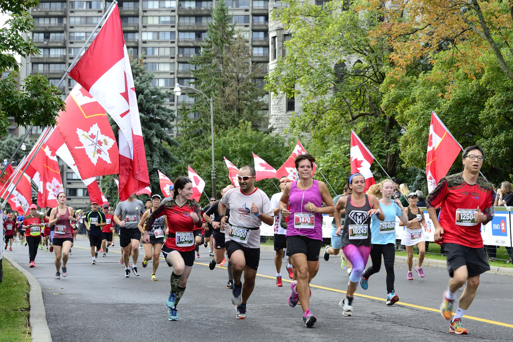 Canada Army Run is a unique running event in which Canadians can run, walk or roll side-by-side with members of the Canadian Armed Forces in half-marathon and five-kilometre events.
