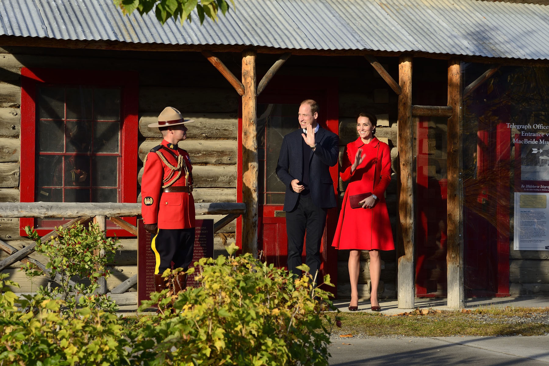 Their Royal Highnesses visited the MacBride Museum. The MacBride Museum, a fixture in downtown Whitehorse since 1952, showcases Yukon's history with a focus on the role of Whitehorse in the development of the territory.