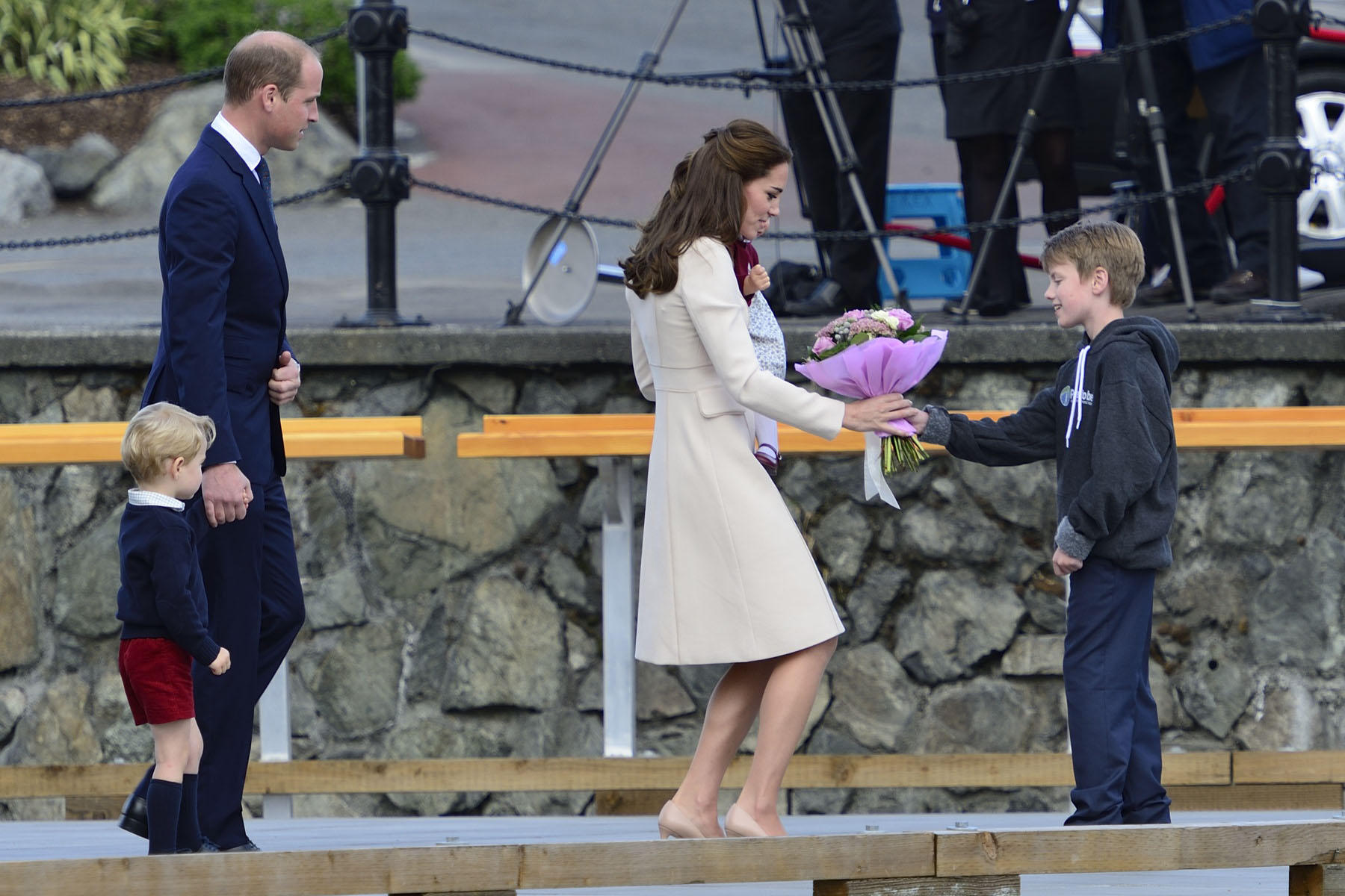 The Duke and Duchess of Cambridge toured Canada from September 24 to October 1, 2016.