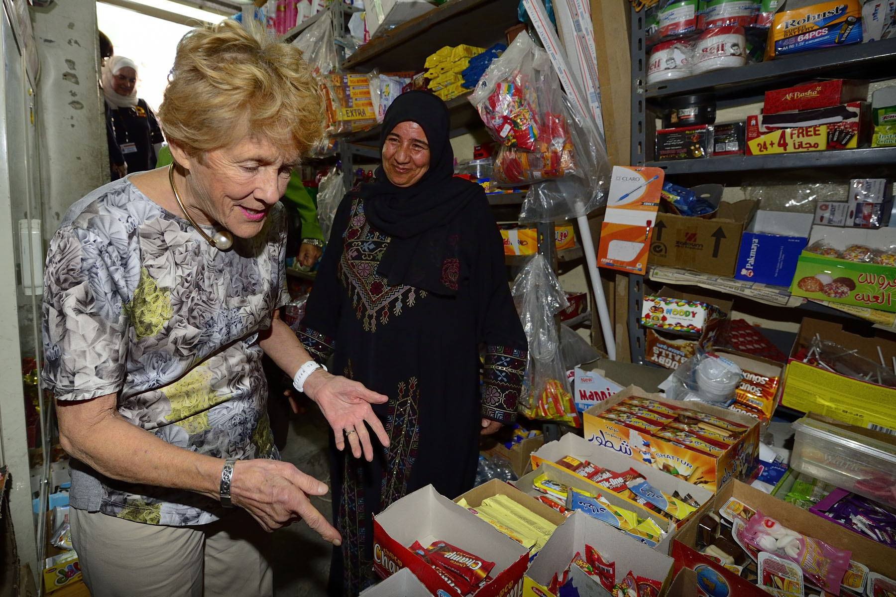 CARE is a global leader within a worldwide movement dedicated to ending poverty and committed to the dignity of people. With the help of CARE, Mariam was able to open a small shop similar to a convenience store.