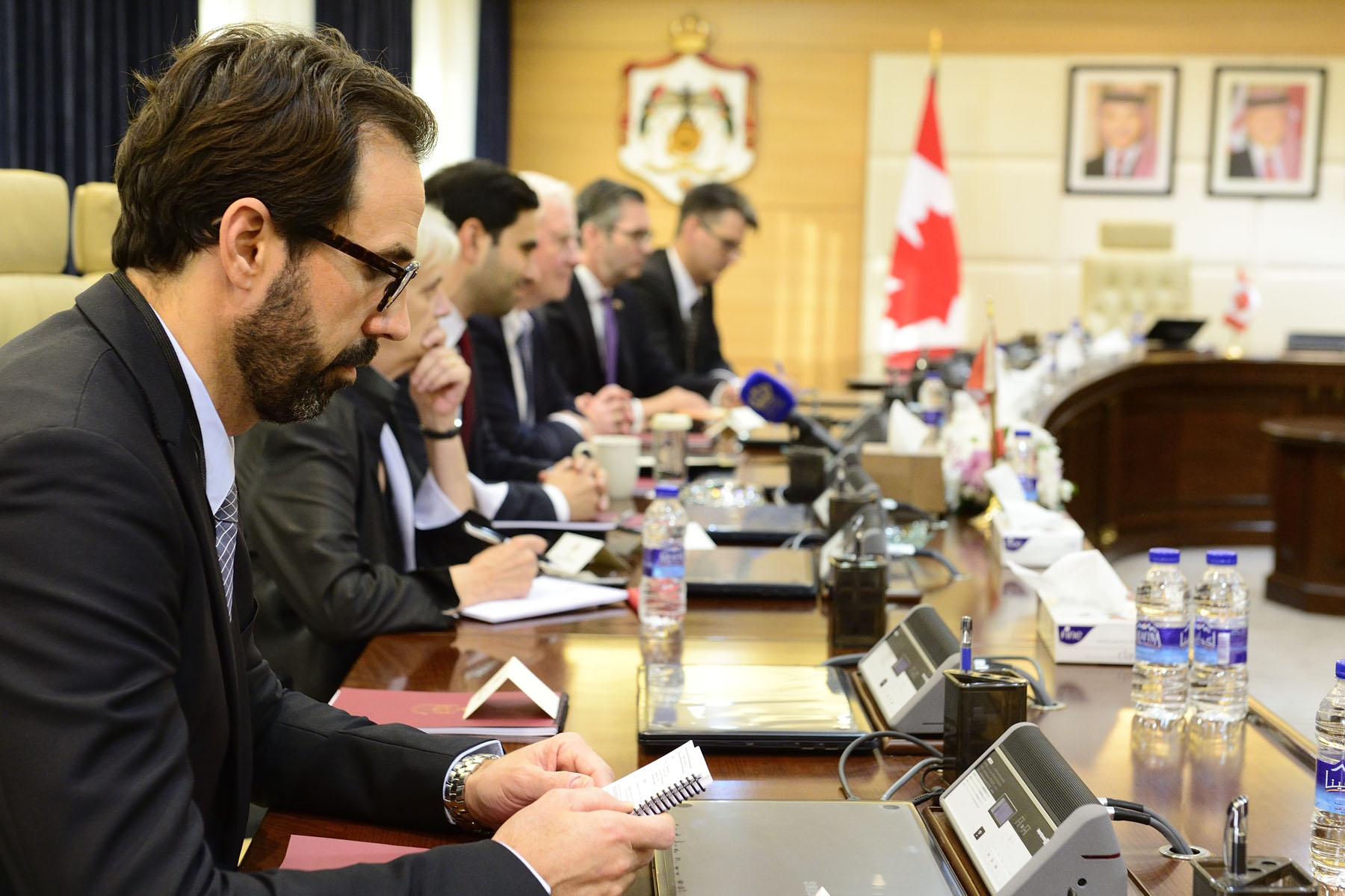 Mr. André François Giroux, Deputy Chief of Protocol Canada, attended the meeting.