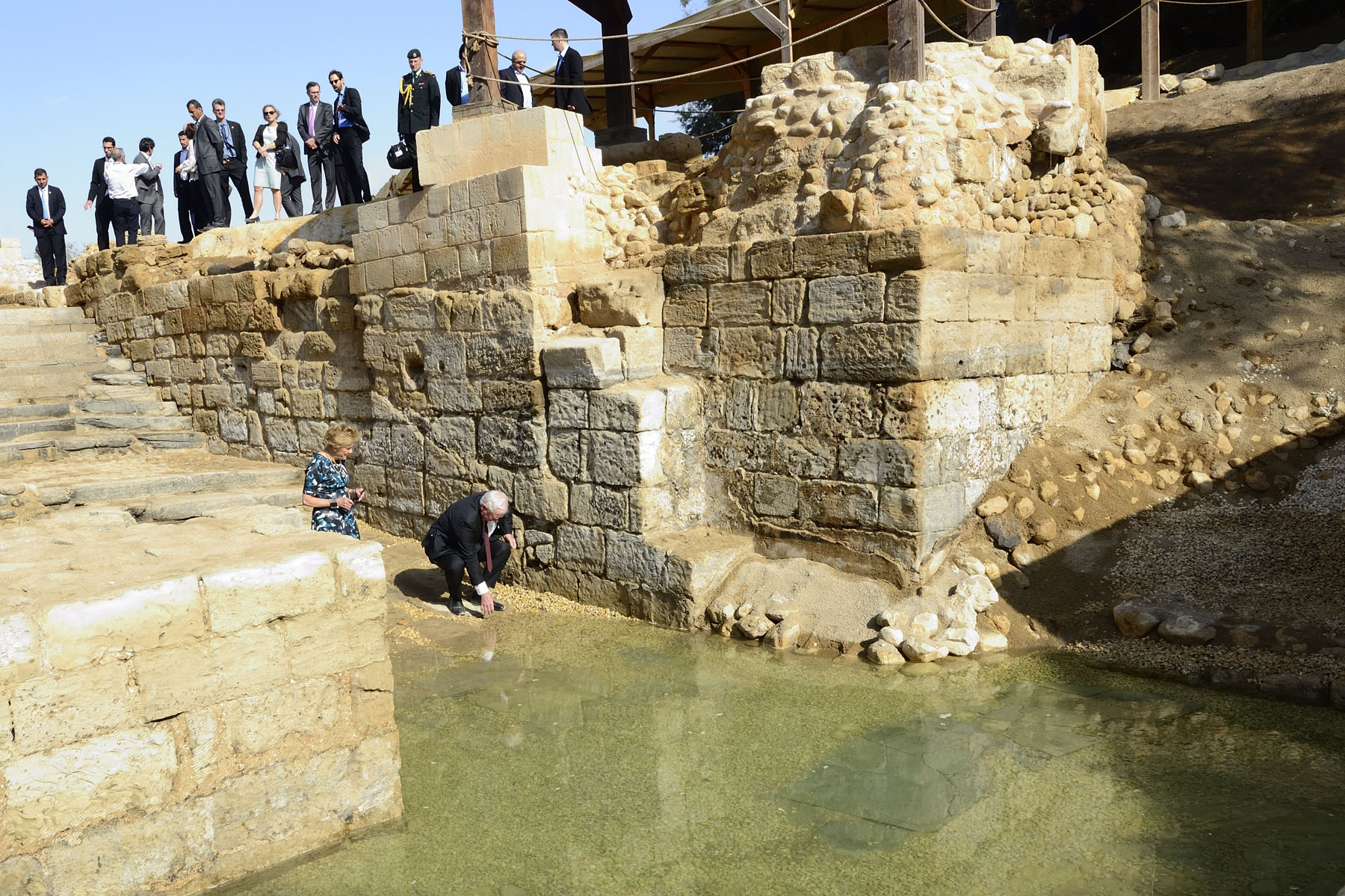 The Baptism Site is a legally protected national park.