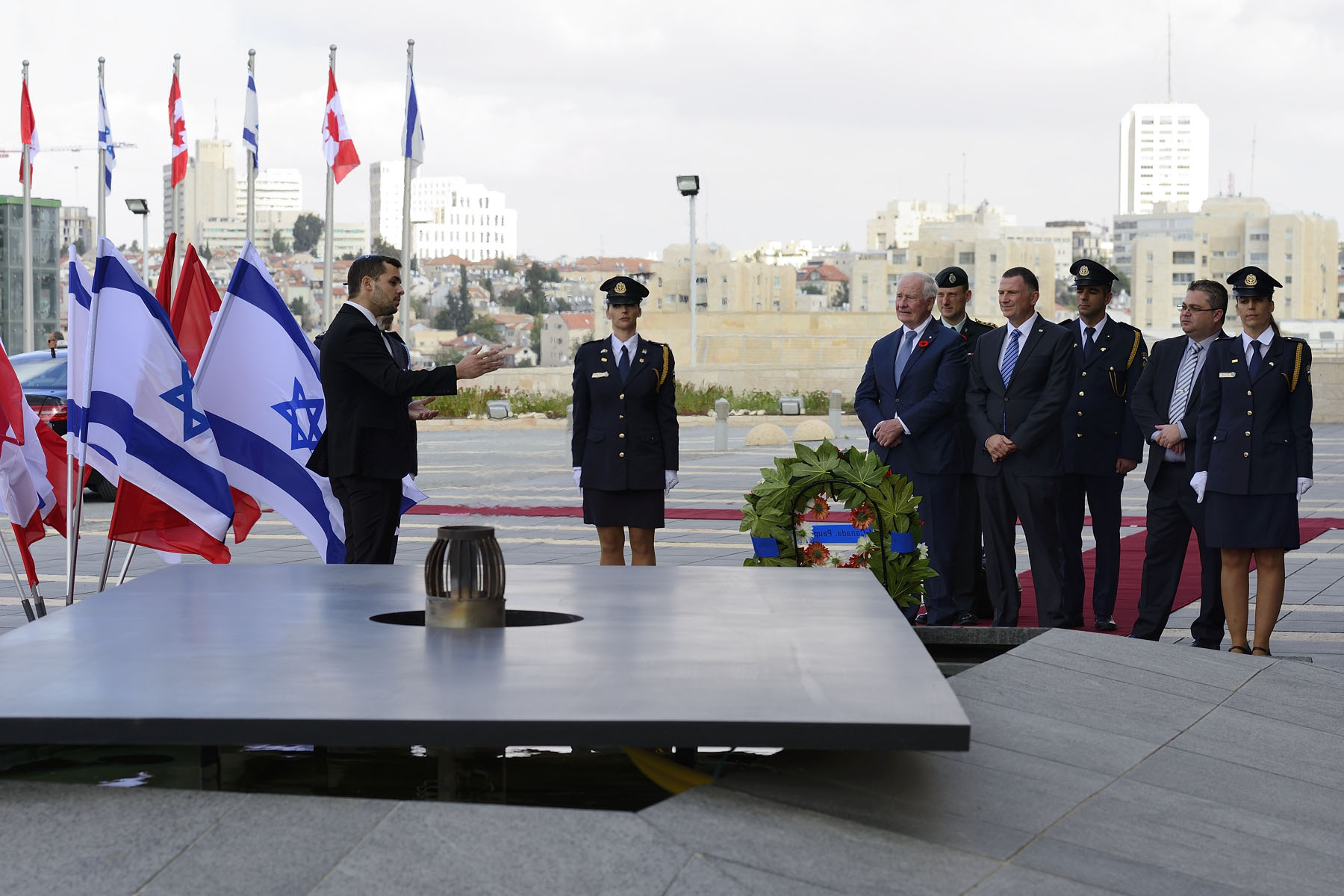 The Governor General visited the Israeli Legislative Assembly.