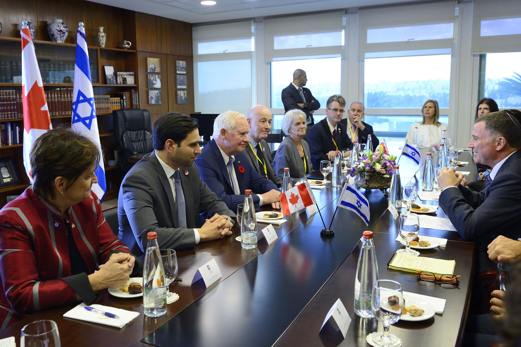 He then met with His Excellency Yuli-Yoel Edelstein, Speaker of the Knesset.