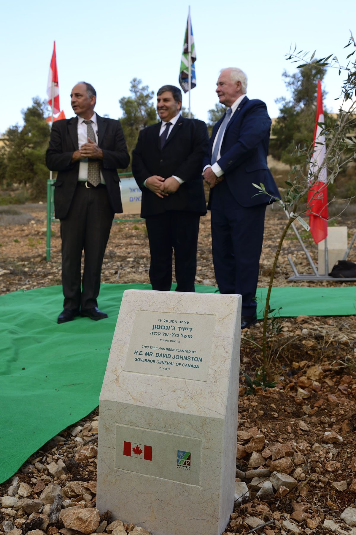 "The Grove of Nations is an integral part of the ""Olive Tree Route"" project in Israel."