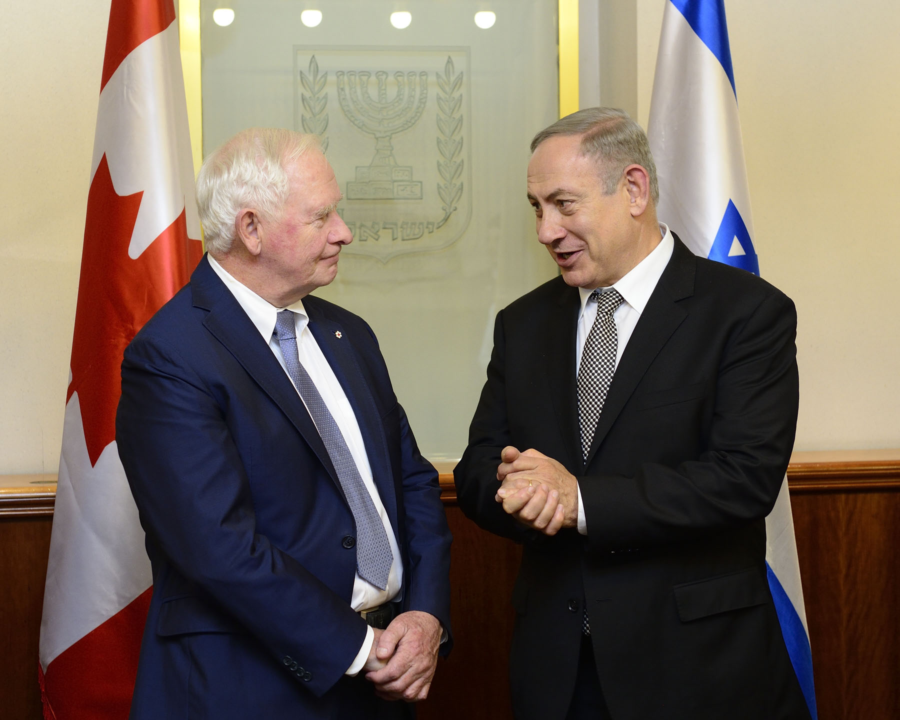 The Governor General met with His Excellency Benjamin Netanyahu, Prime Minister of the State of Israel, to discuss key areas of Israel-Canada engagement.