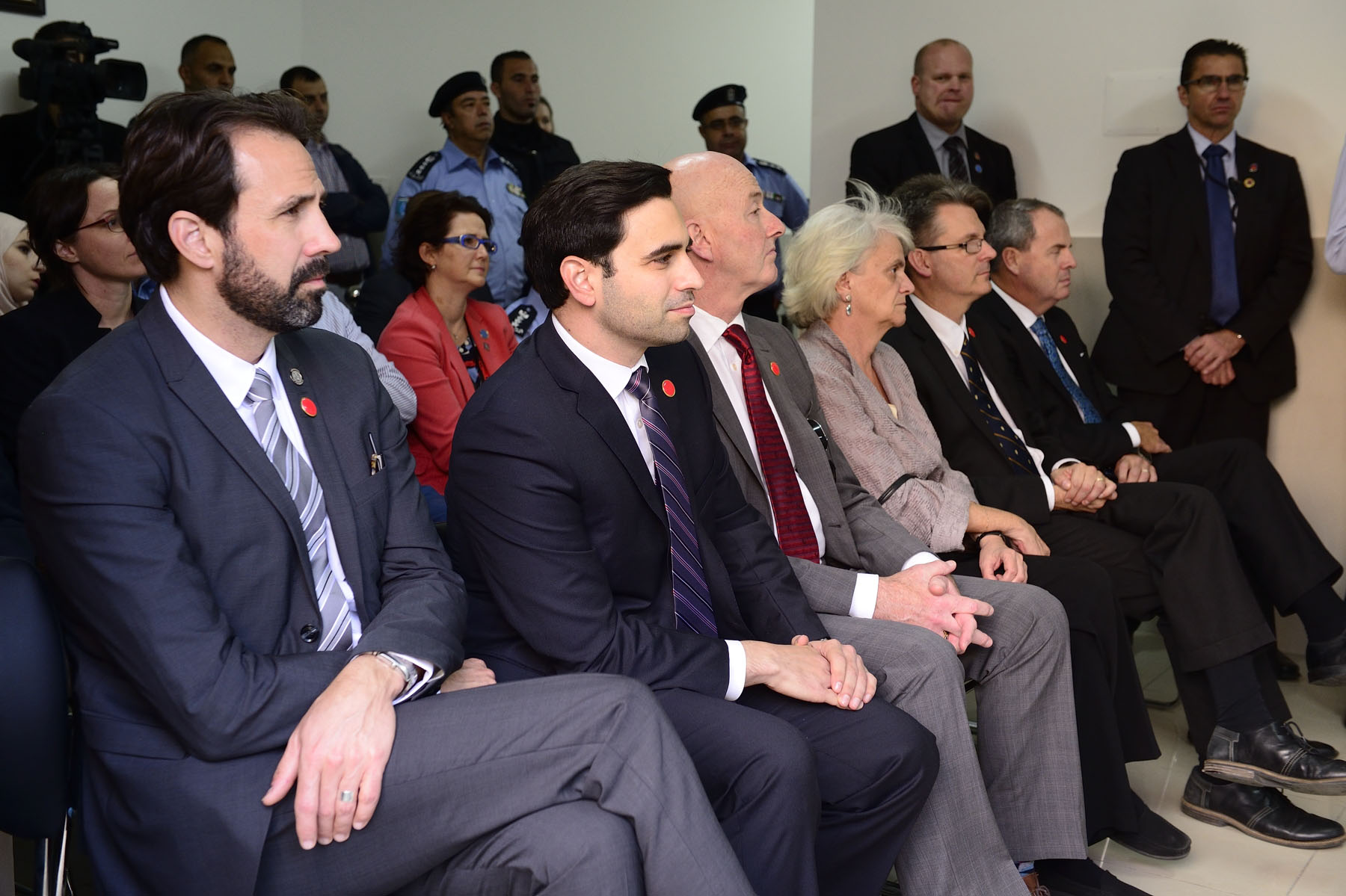 Canadian delegates also attended the ceremony.