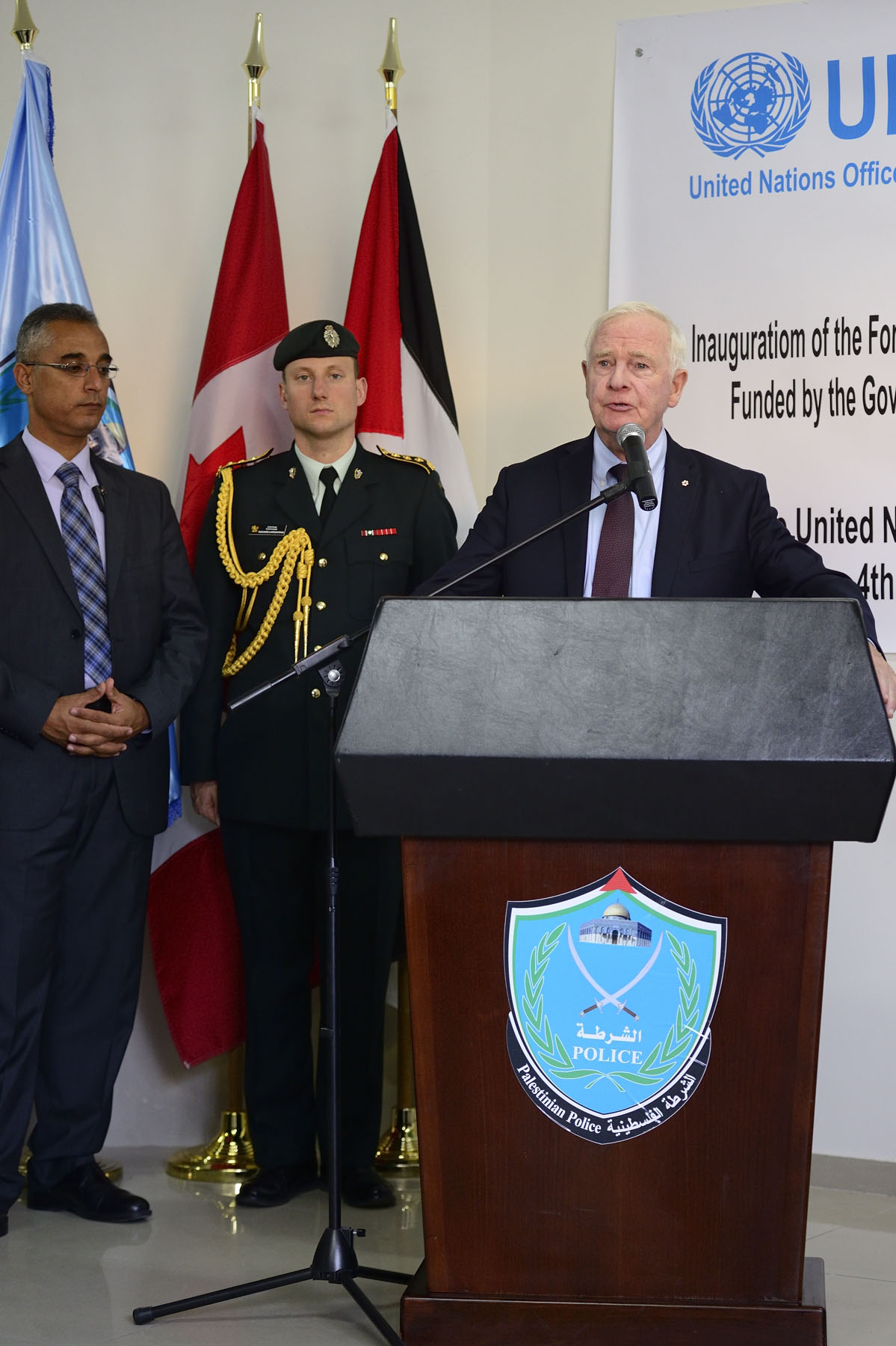 The Governor General delivered brief remarks on this occasion.
