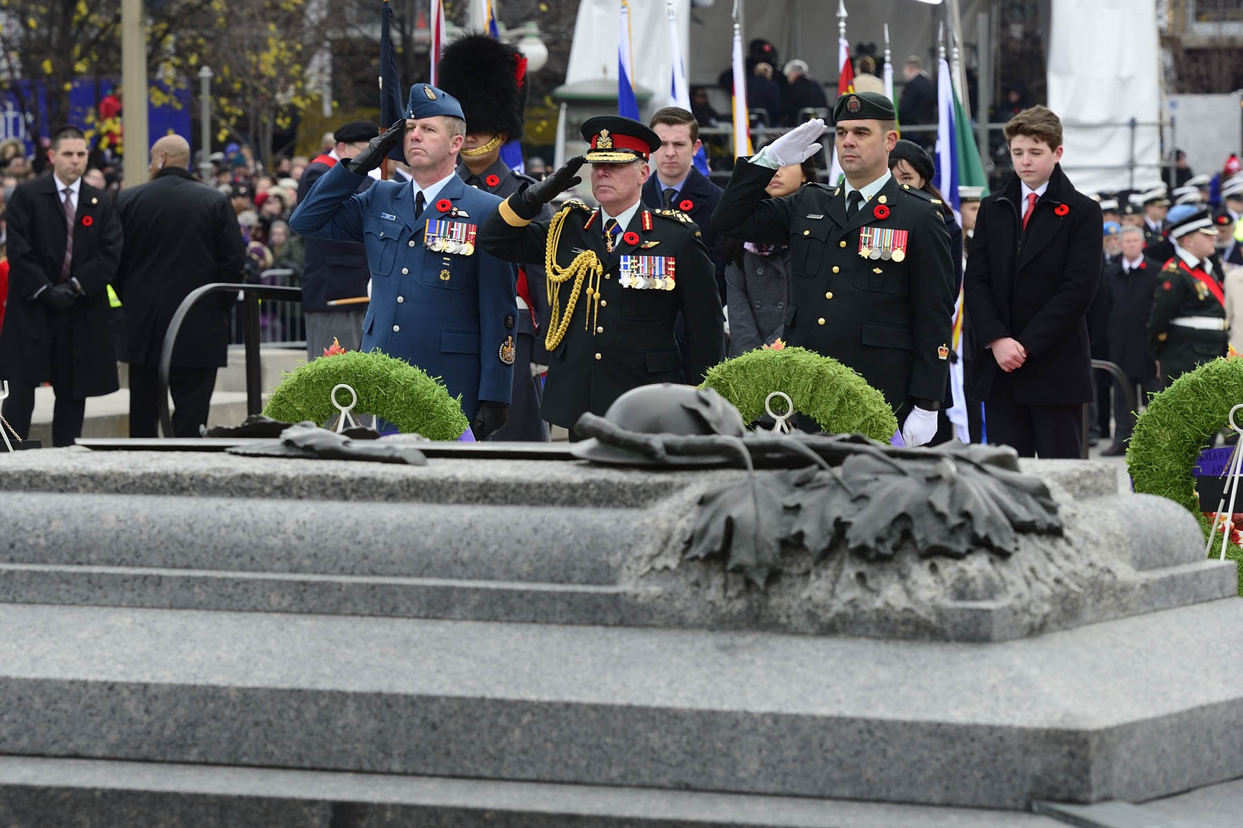 The Tomb of the Unknown Soldier is an important symbol to honour and remember the sacrifices of our Canadian Armed Forces.