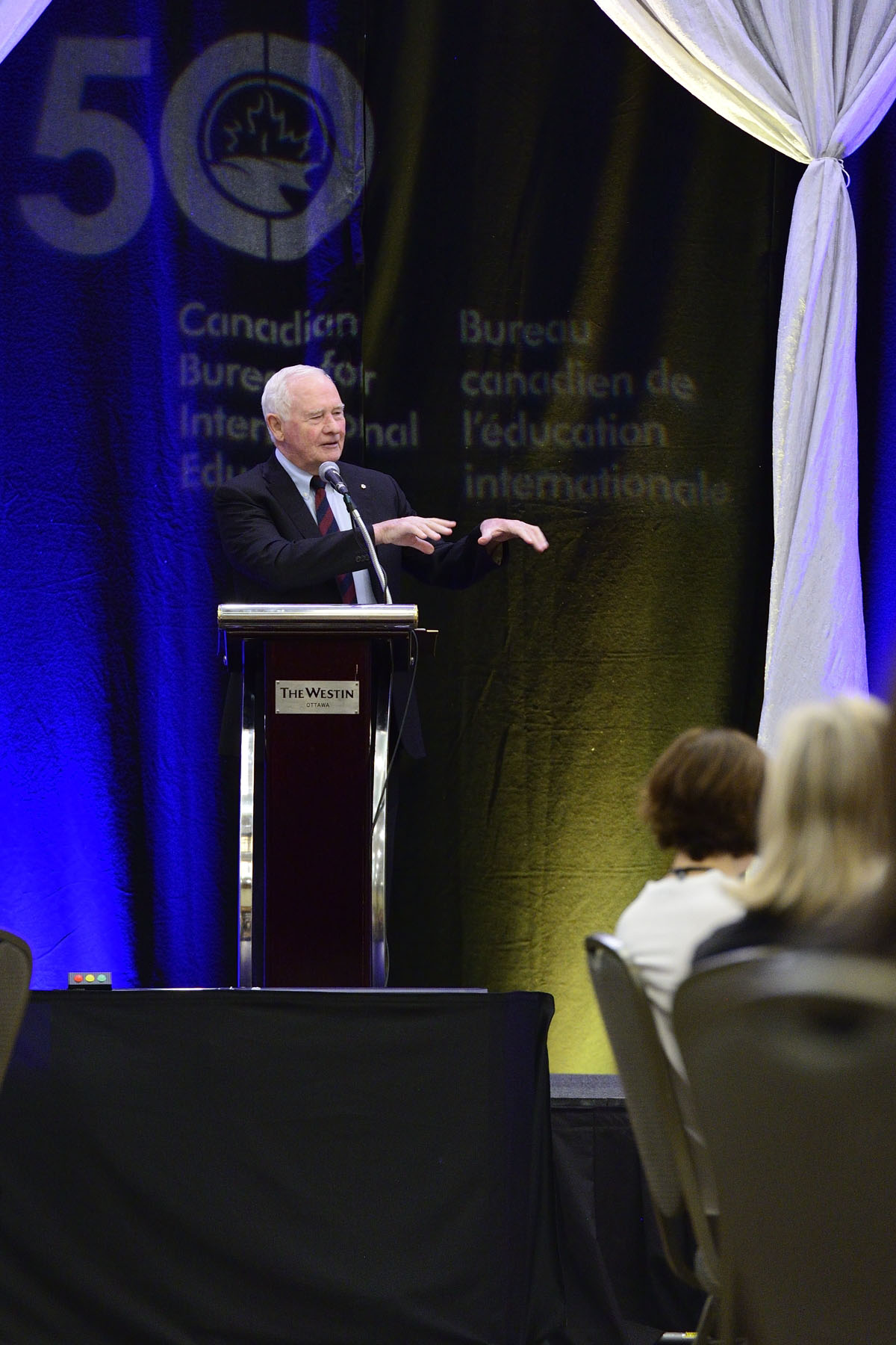 """Our country stands to gain from more Canadian students going abroad, as well as from more international students coming to Canada,"" said the Governor General. ""A global outlook is essential for navigating the complexities of today's world."""