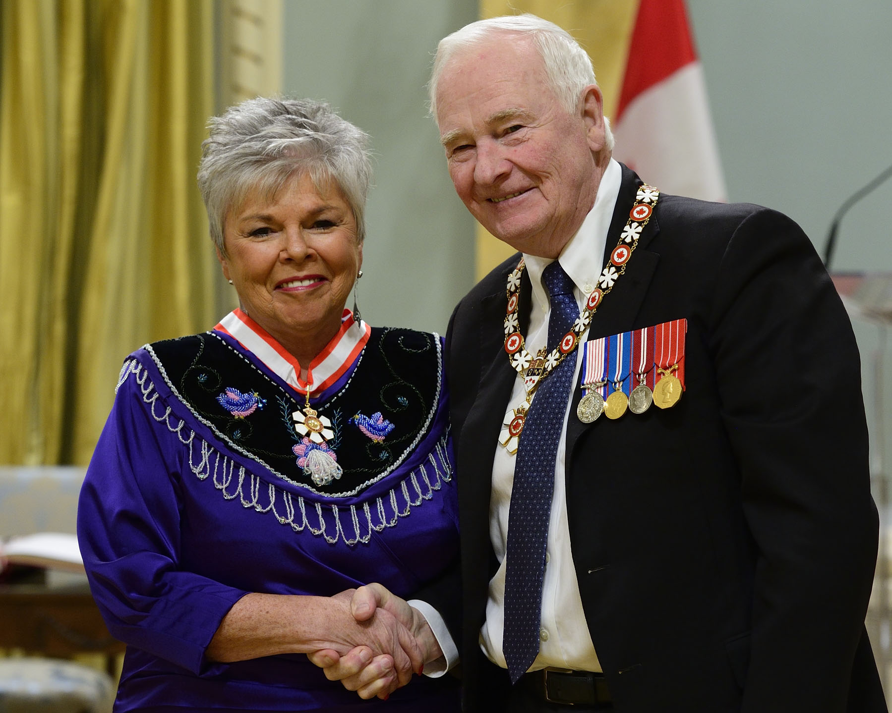 Roberta Jamieson has devoted her life to advancing the goals and aspirations of Indigenous peoples across Canada. She is a lawyer, mentor, expert in non-adversarial conflict resolution, former elected chief of the Six Nations of the Grand River Territory, and president and CEO of Indspire. In the latter role, she has transformed this Indigenous-led charity, positioning its focus on education for Indigenous youth and working tirelessly to attract public and private sector funding for scholarships and bursaries. This has resulted in exceptional graduation results, creating a brighter future for new generations of young people. This is a promotion within the Order.
