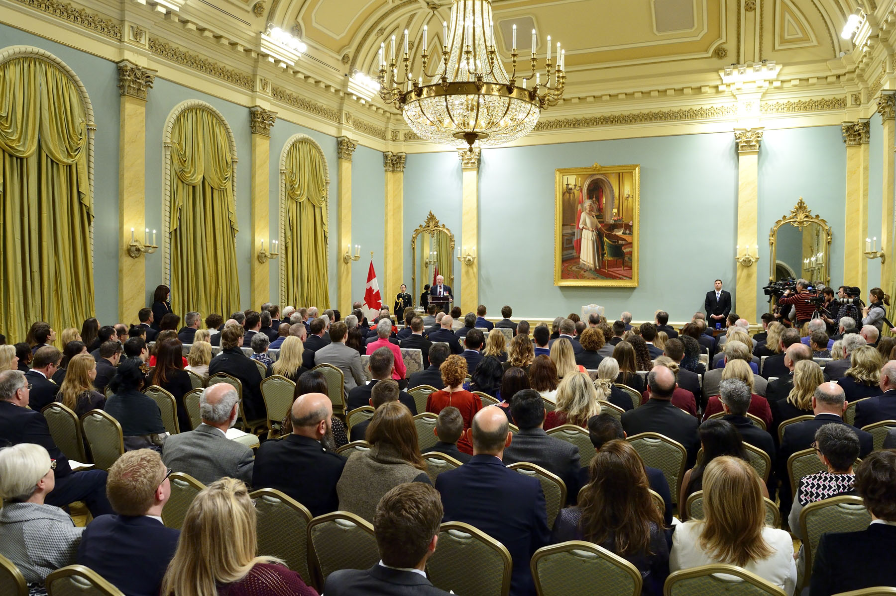"""And through your actions, by shattering all expectations, you served the interests of people across this country. Not only that, but you also managed to influence others to give as well—the perfect example of giving as a virtuous circle,"" said the Governor General. ""Never let it be said that you cannot enact change, that what you say and what you do don't matter. They matter very much."""