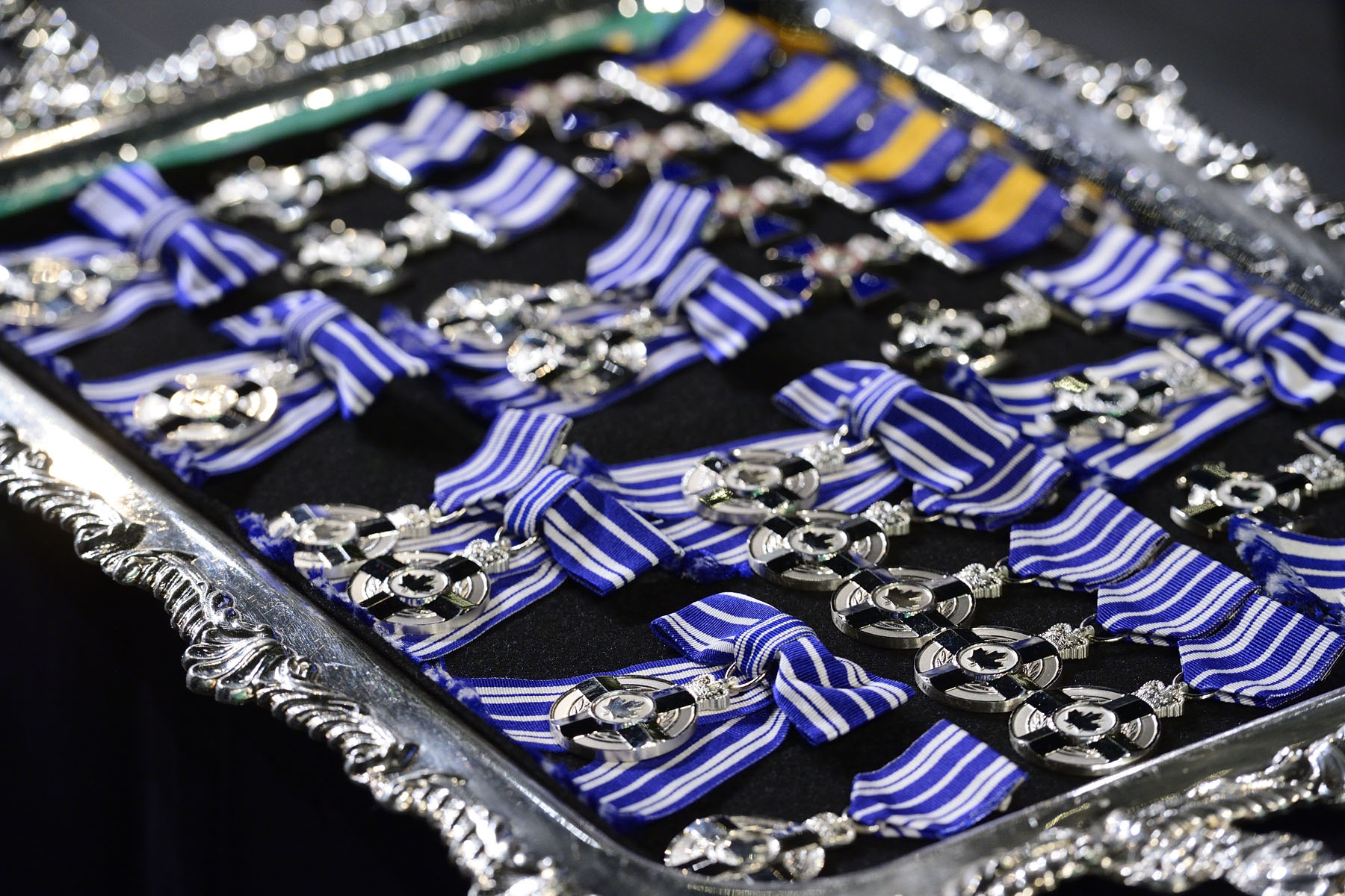 More than 70 remarkable Canadians were recognized for their excellence, courage or exceptional dedication to service with one of the following honours: the Order of Merit of the Police Forces, the Meritorious Service Decoration, the Decoration for Bravery, the Polar Medal or the Sovereign's Medal for Volunteers.