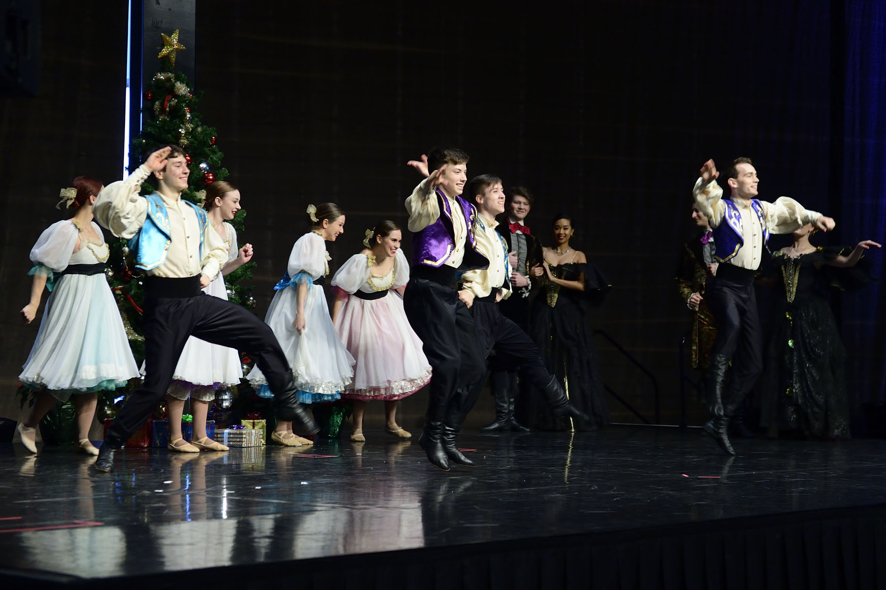 "The cultural interlude featured Shumka Ukranian Dancers, performing a montage of the colourful characters and scenes from Clara's Dream, a true ""Edmonton Nutcracker,"" produced and performed by local artists – along with guests from Ukraine."