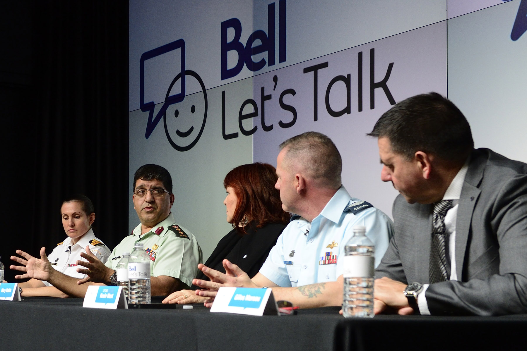 The panel discussion provided an opportunity to raise awareness and encourage dialogue around mental health.