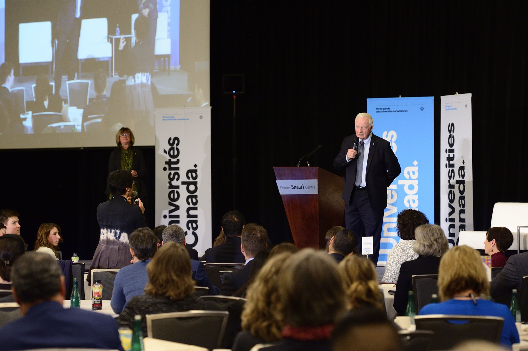 His Excellency the Right Honourable David Johnston, Governor General of Canada, delivered the closing address at Converge 2017 on February 7 at the Shaw Centre in Ottawa.