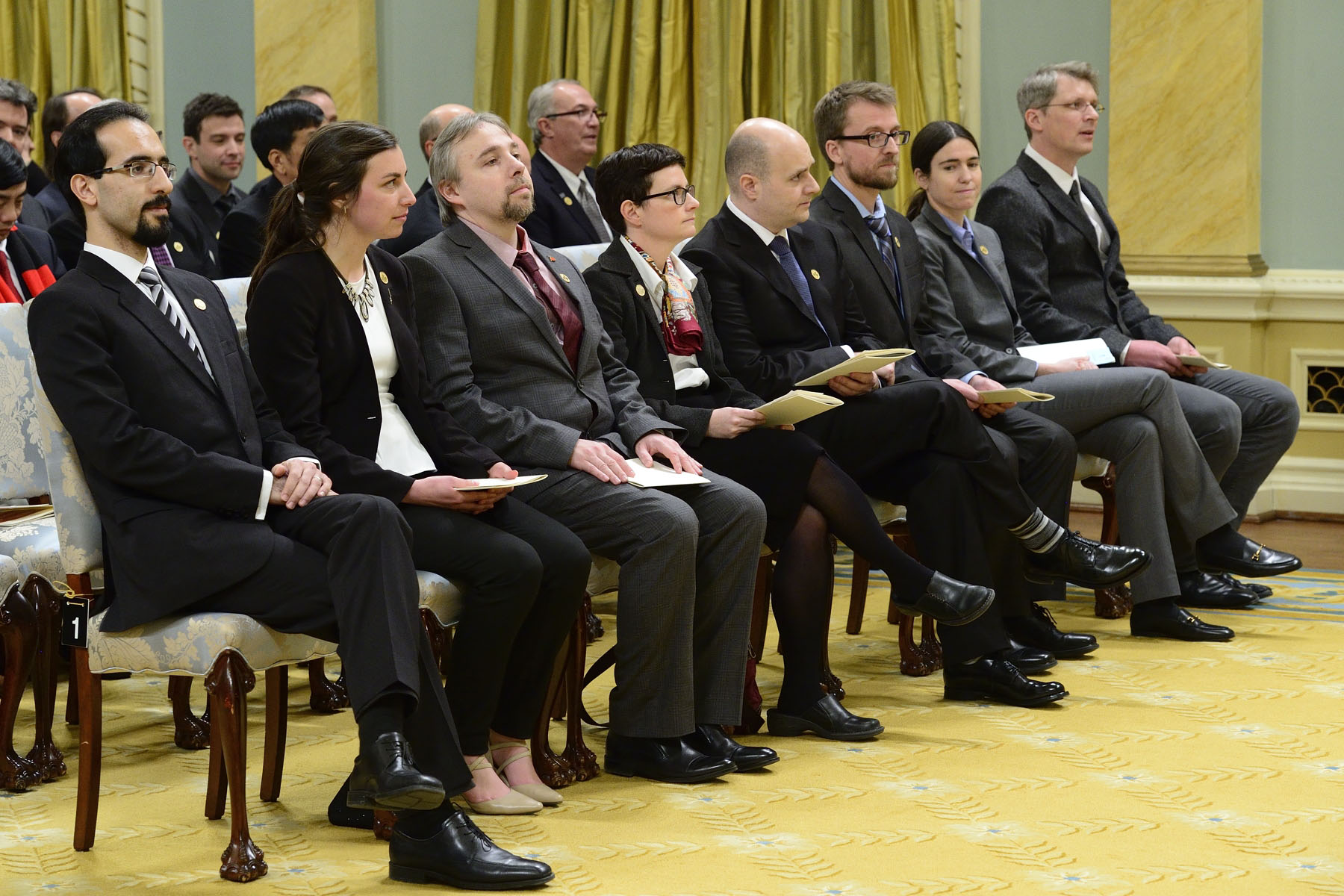 The Governor General presented a series of Natural Sciences and Engineering Research Council of Canada (NSERC) Awards during a ceremony at Rideau Hall.