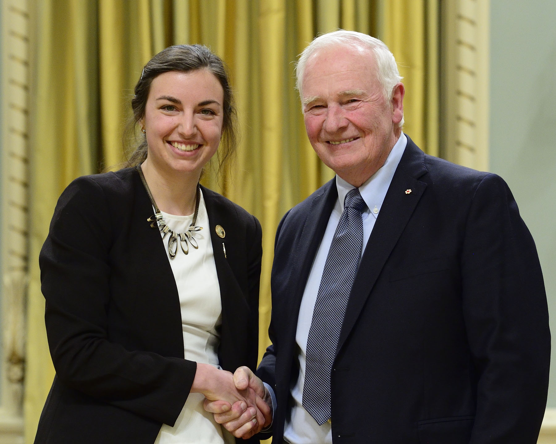Madeleine Bonsma-Fisher received the NSERC Gilles Brassard Doctoral Prize for Interdisciplinary Research.