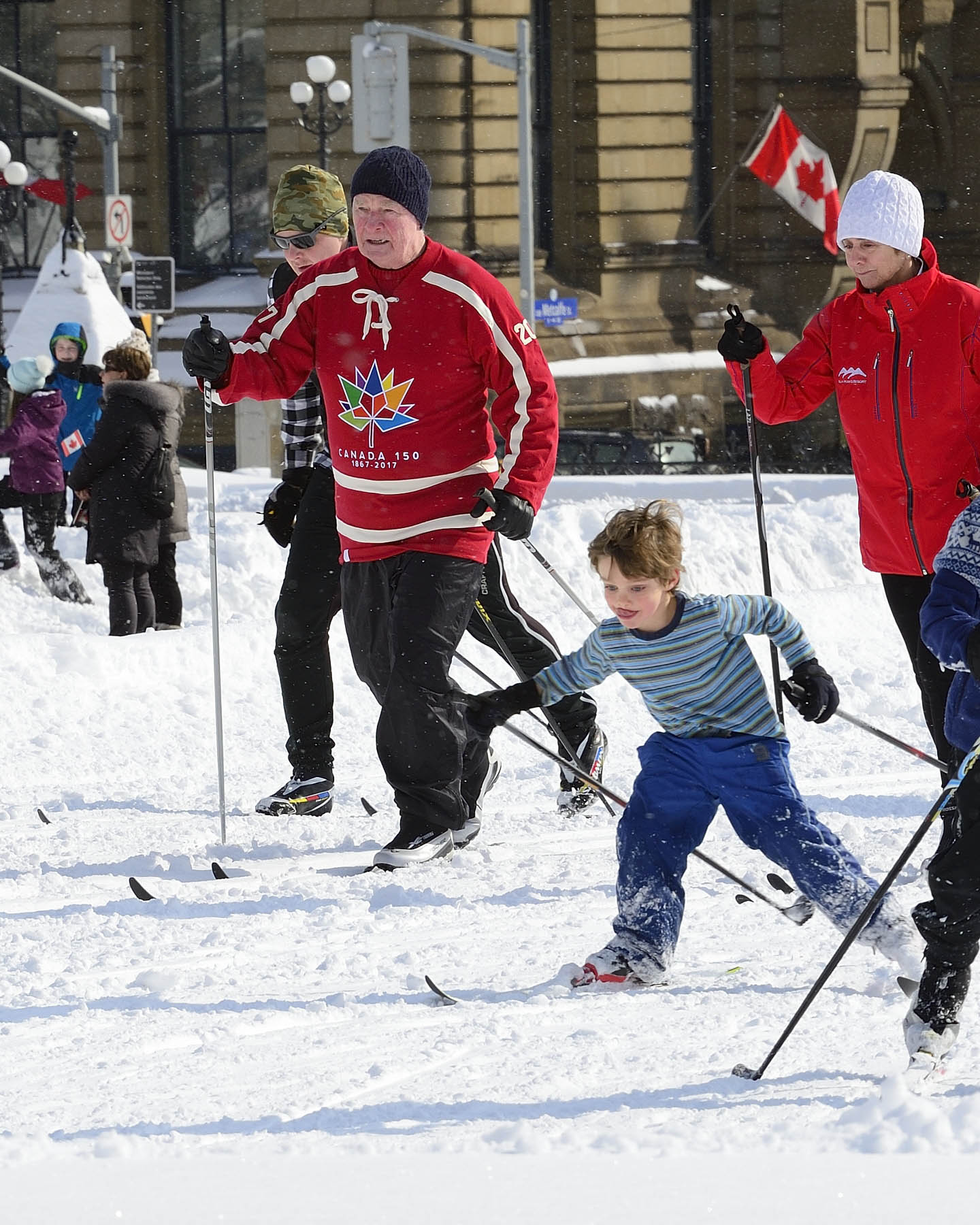 This event was created to promote National Health and Fitness Day and to encourage Canadians to embrace winter.