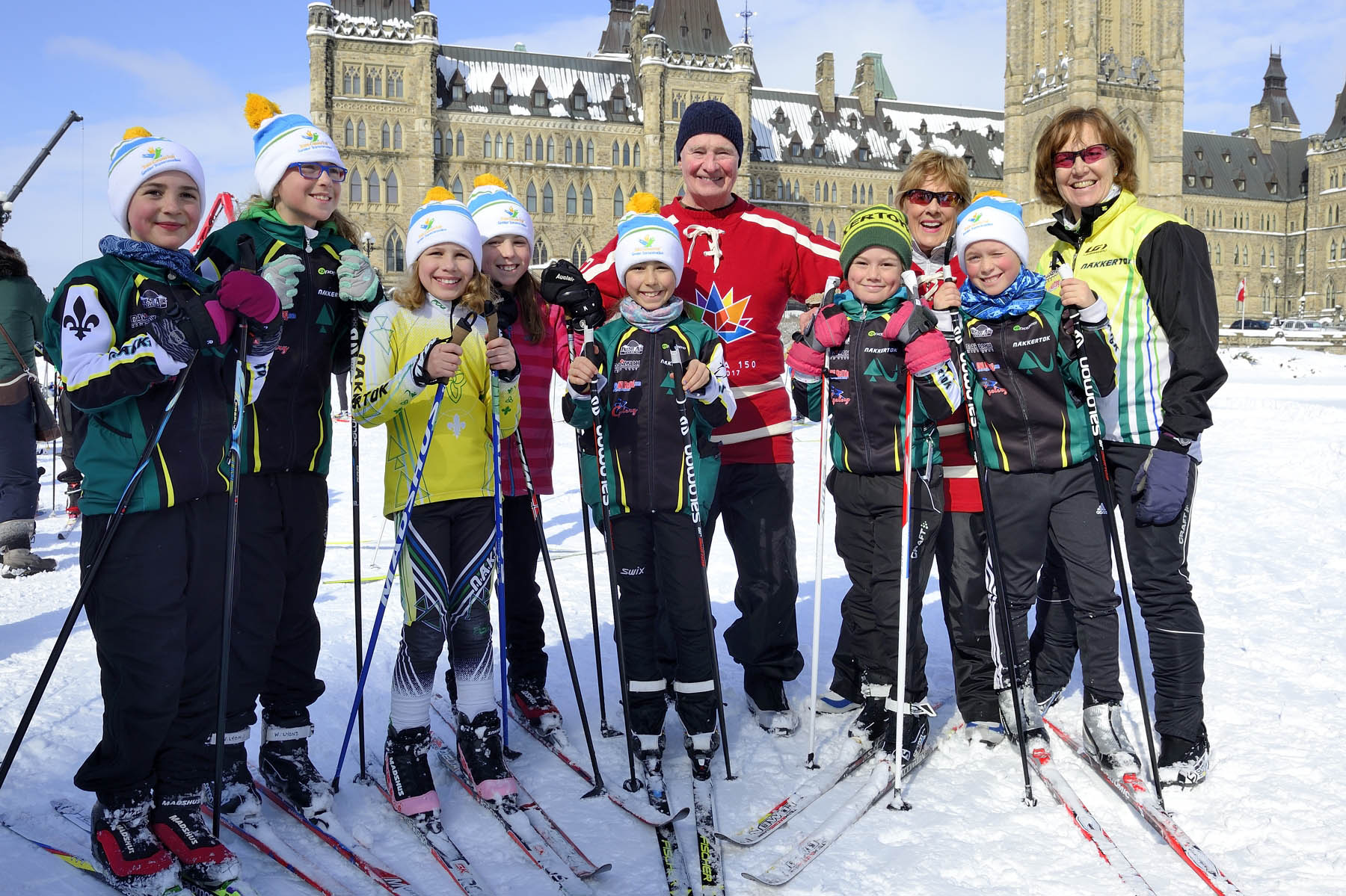 This unique event was held in partnership with the Nakkertok Nordic Club and XC Ski Fast.