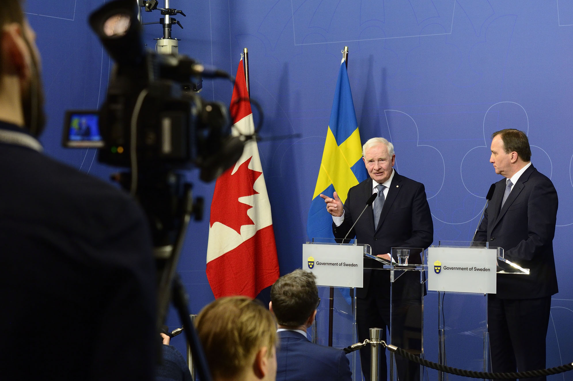 """In a rapidly changing world, the Canada-Sweden relationship matters more than ever. Areas of particular potential include research and innovation, diversity and inclusion, and sustainability and clean technology development,"" said the Governor General."