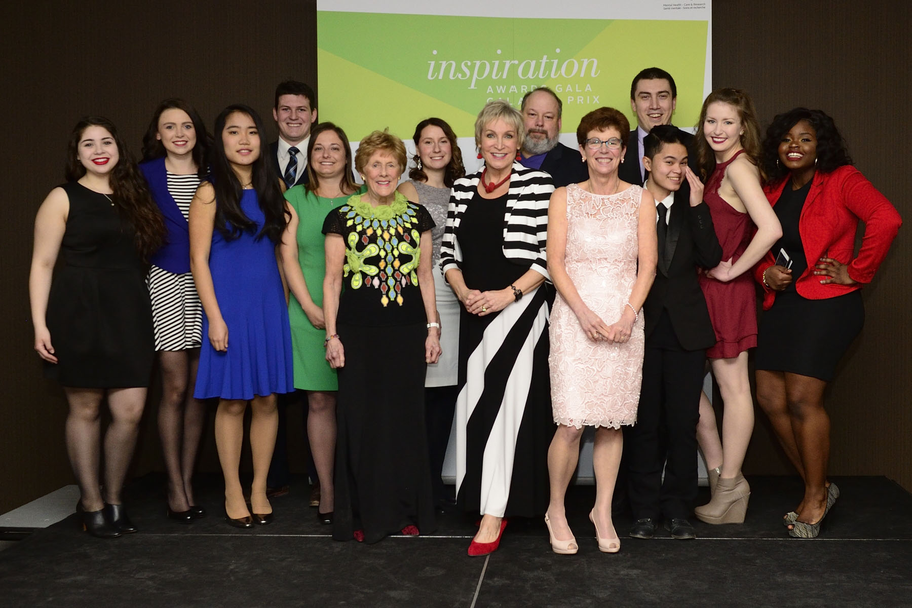 Her Excellency Sharon Johnston received The Royal's 2017 Honorary Inspiration Award during the organization's 14th Annual Inspiration Awards Gala on March 3, 2017 at the Delta Ottawa City Centre. The awards are a celebration of the incredible contributions being made to mental health.