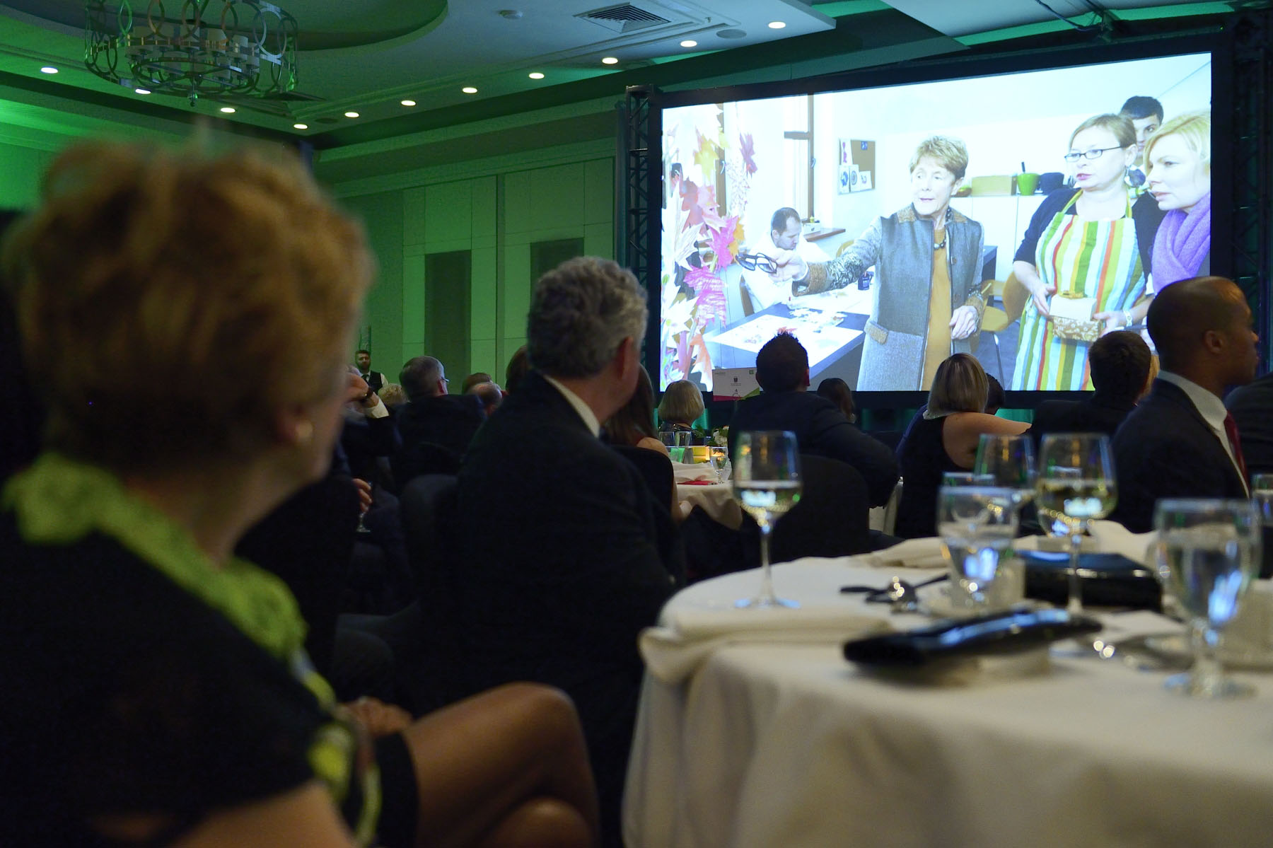 A video highlighting how Her Excellency adds her voice to reducing the stigma surrounding mental illness was presented.