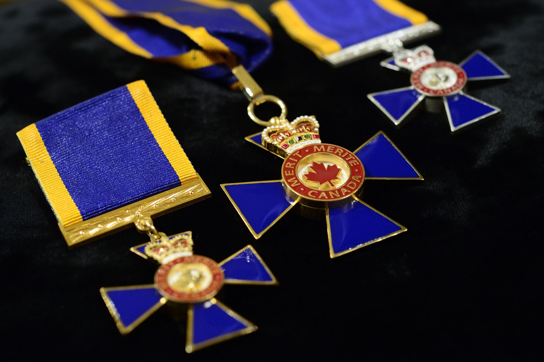 The Governor General and Commander-in-Chief of Canada, presided over an Order of Military Merit investiture ceremony at Rideau Hall, on March 6, 2017.