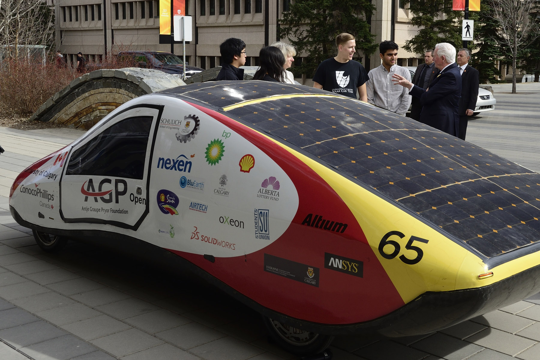 Schulich Delta is a solar car built and raced internationally by a student-run team of engineering, business, and science students.