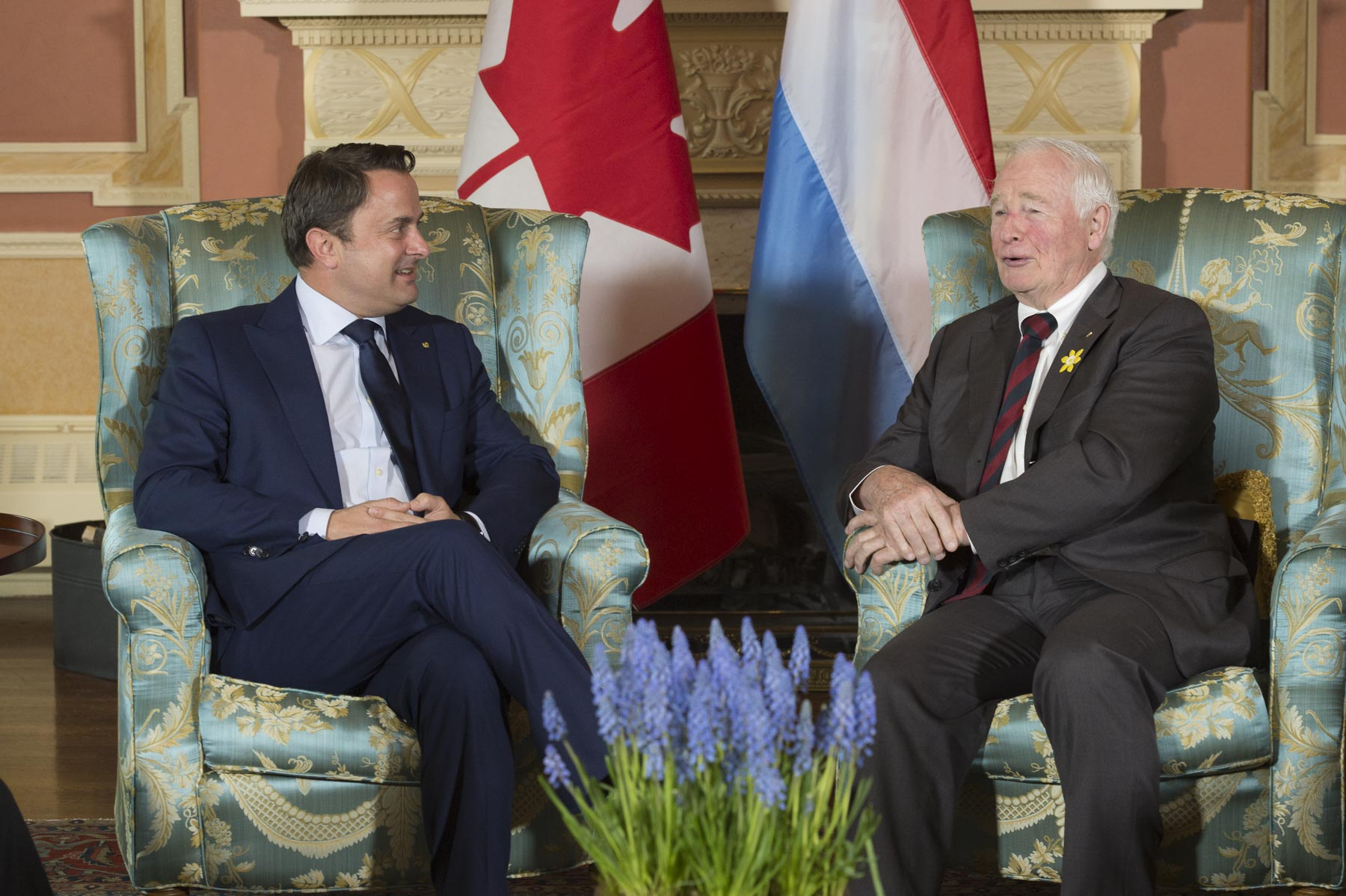 Prime Minister Bettel is in Canada for a working visit from April 18 to 20, 2017.