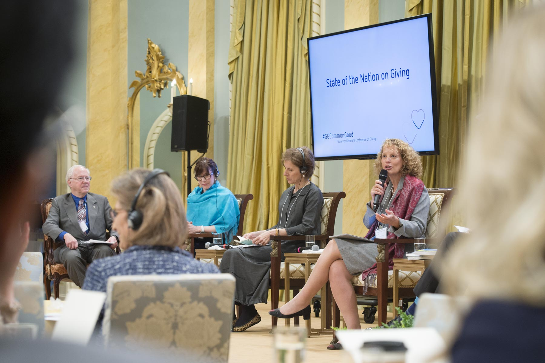 This one-day, national conference, delivered in partnership with the Rideau Hall Foundation, focussed on three major themes: State of the Nation on Giving; Millennials, Values and Giving Behaviour; and Behavioural Science Principles to Encourage Giving.